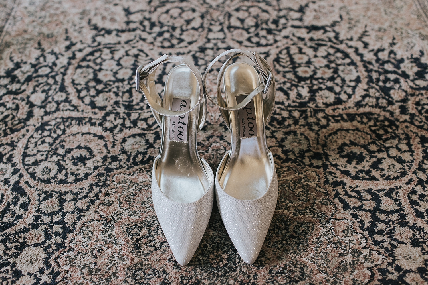 alan pinkus bride shoes