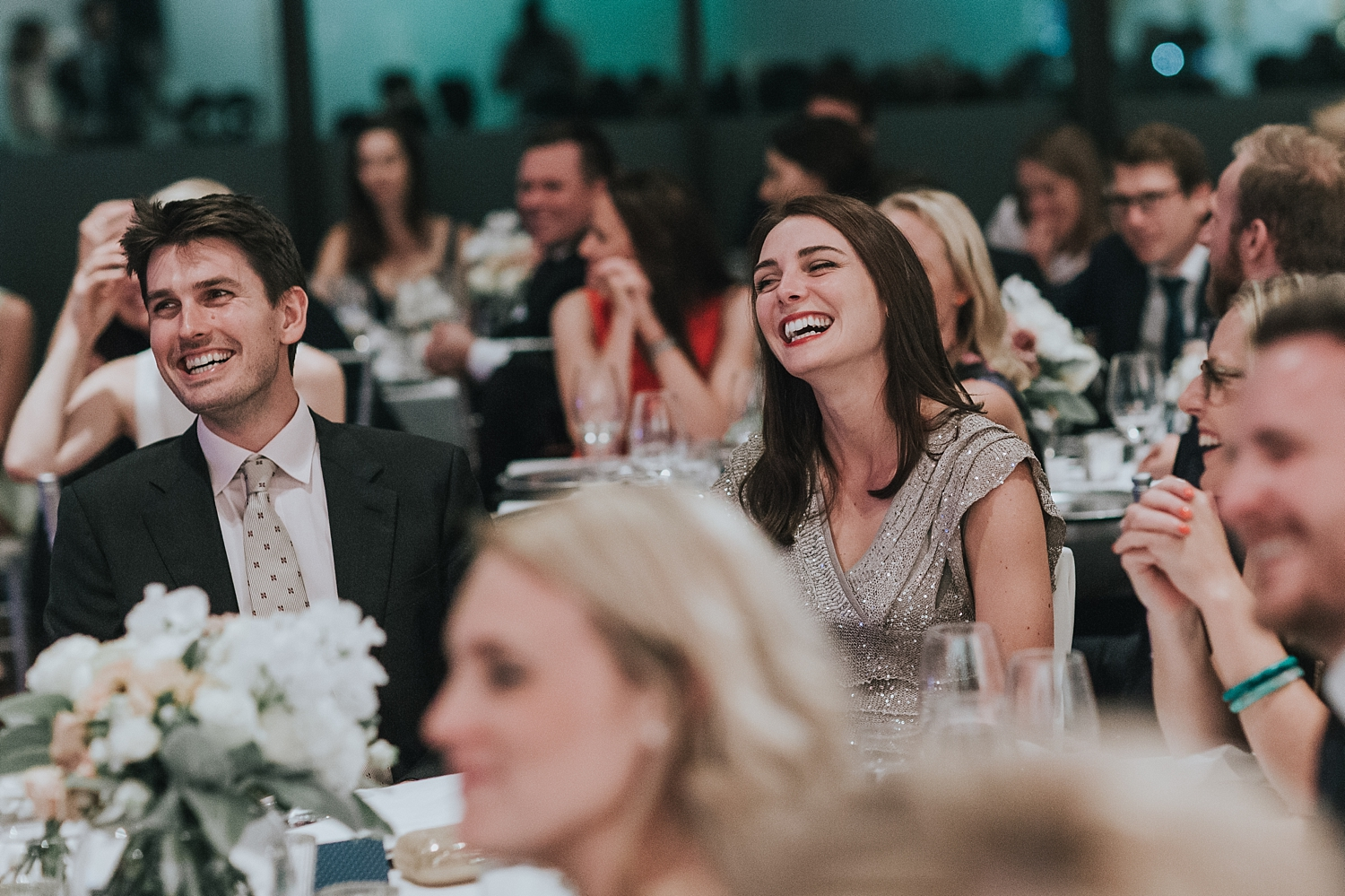 museum of contemporary art wedding reception photos