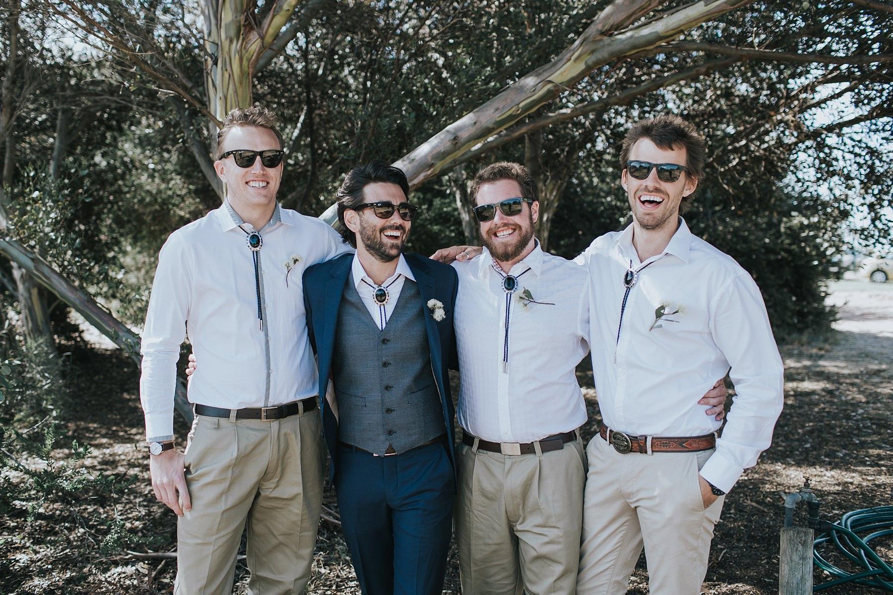 farm styled groomsmen