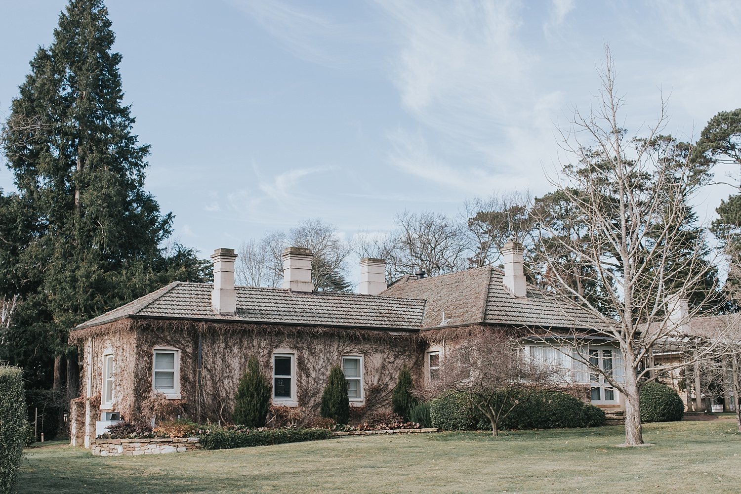 homestead at bendooley estate for bridal prep