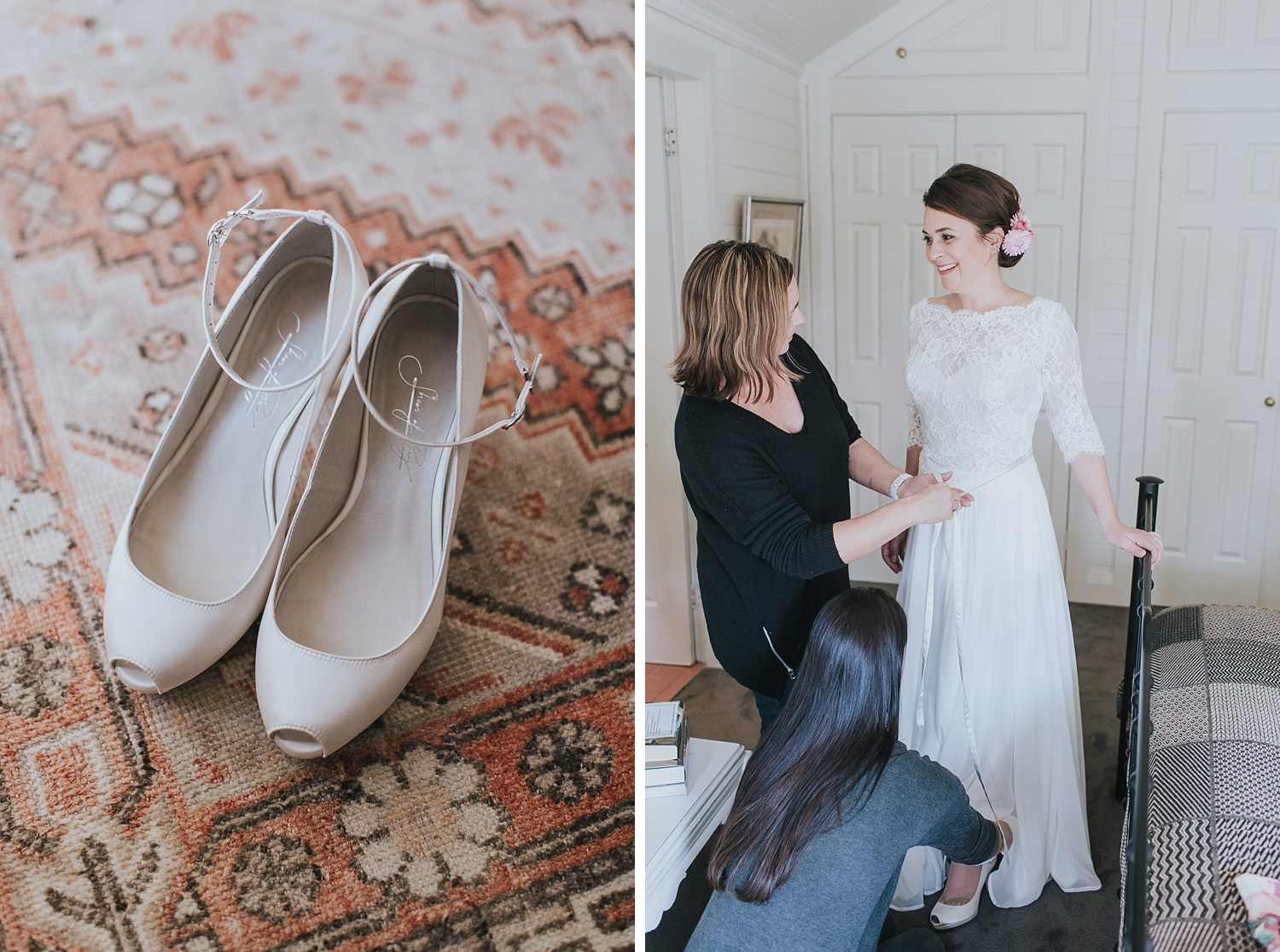 bridal prep at bendooley estate photographed by jonathan david