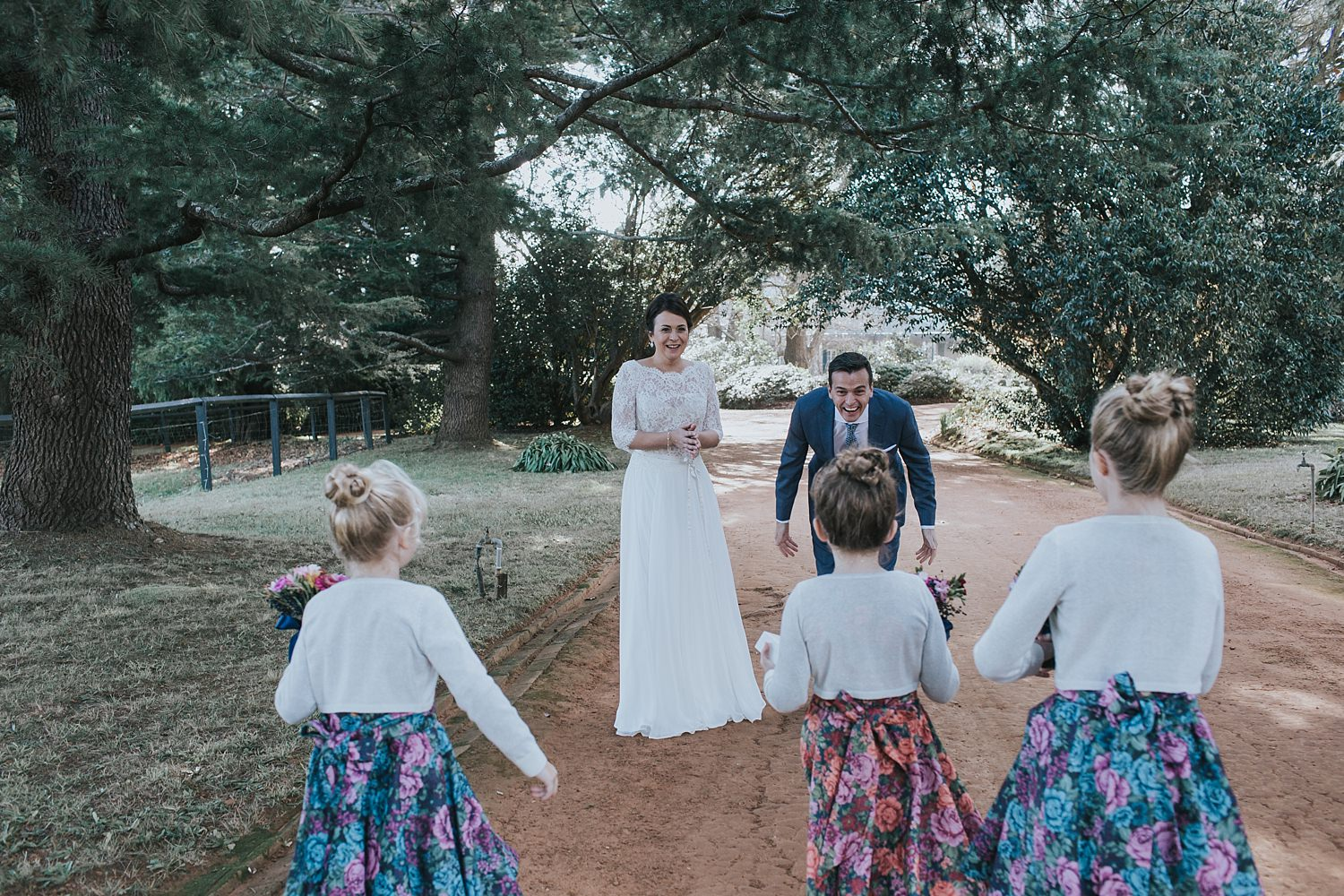 groom excited to see his daughter in the southern highlands