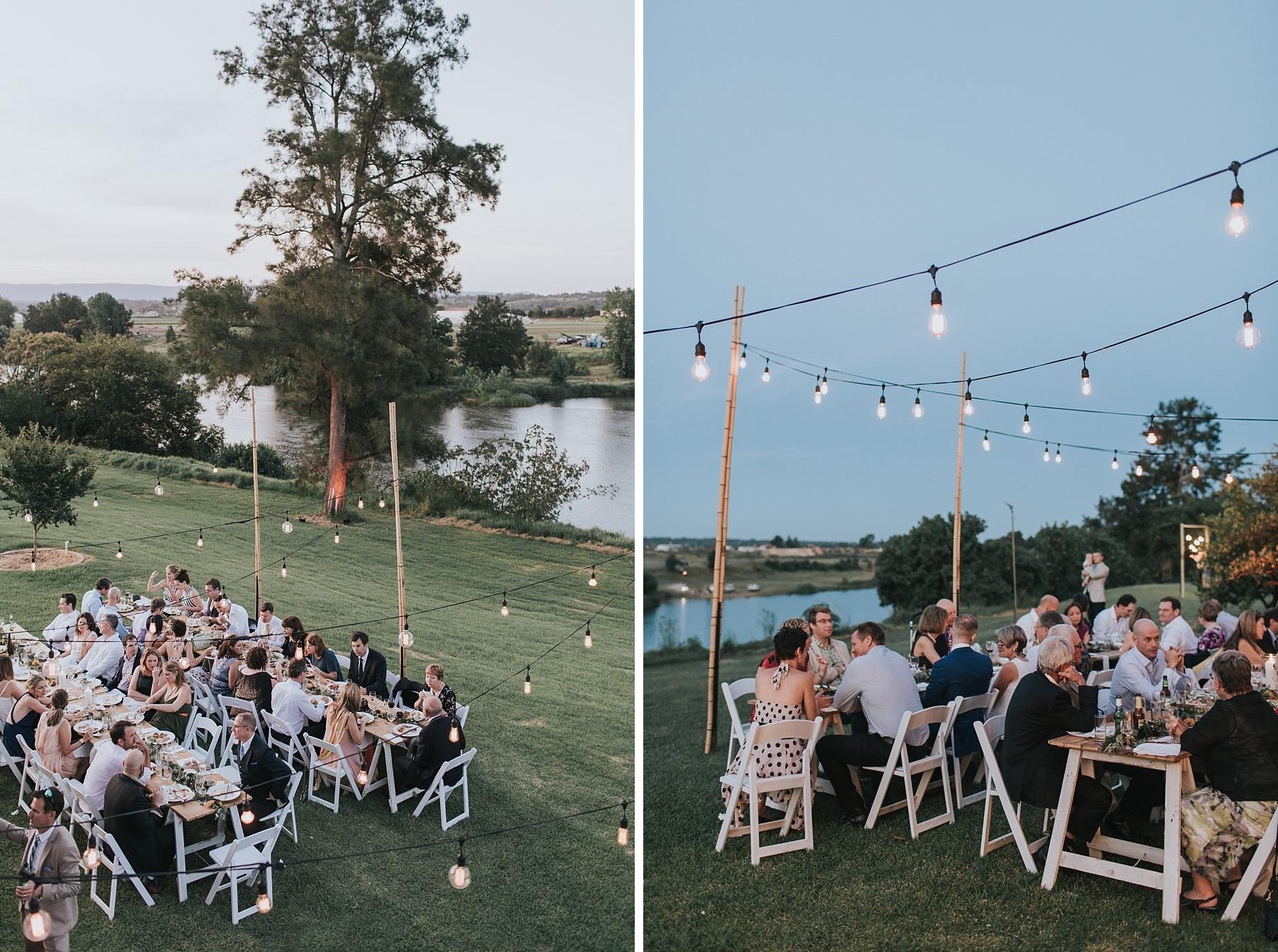 wedding reception photos at cornwallis house