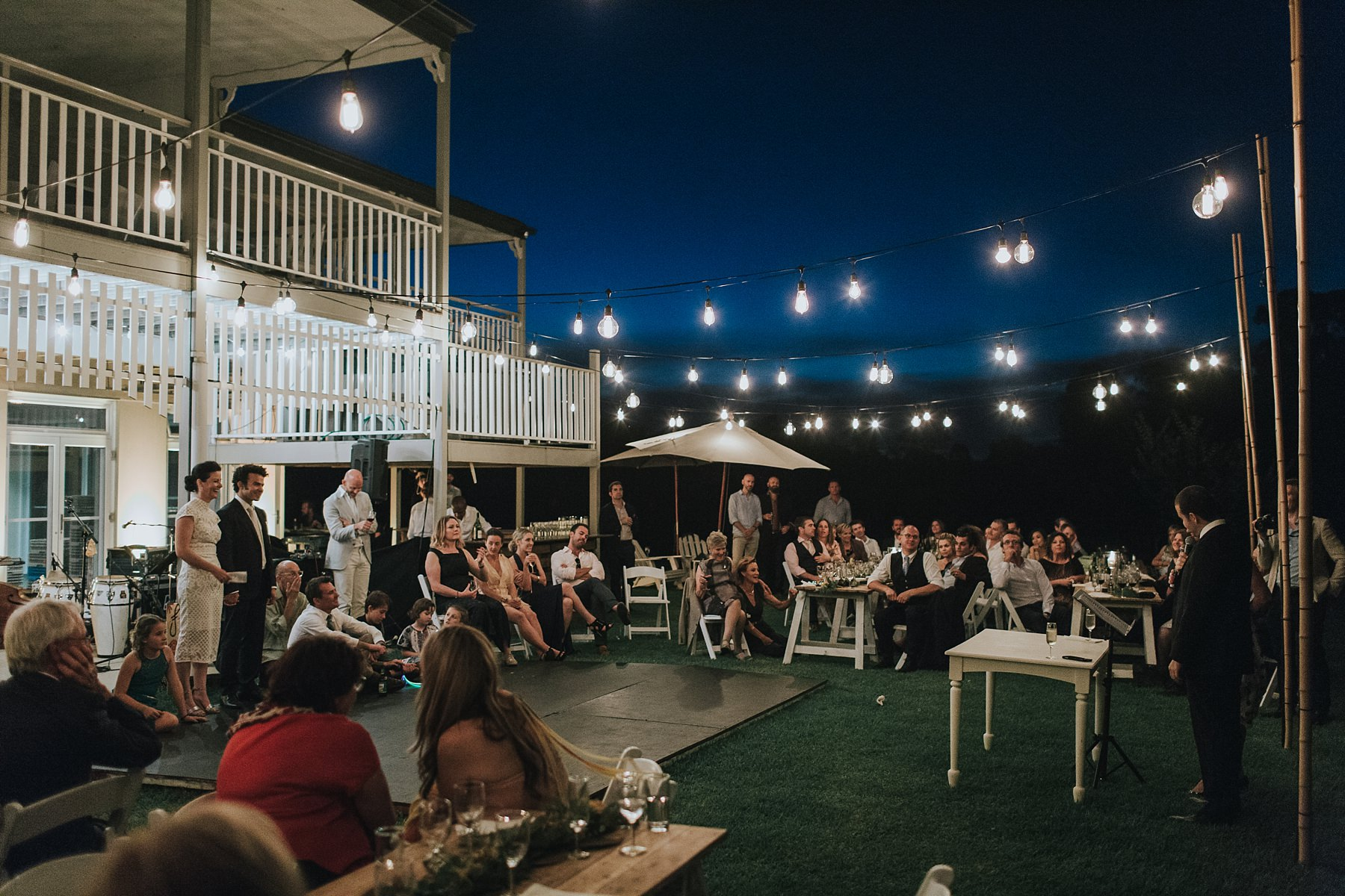 speeches at cornwallis house under the night sky