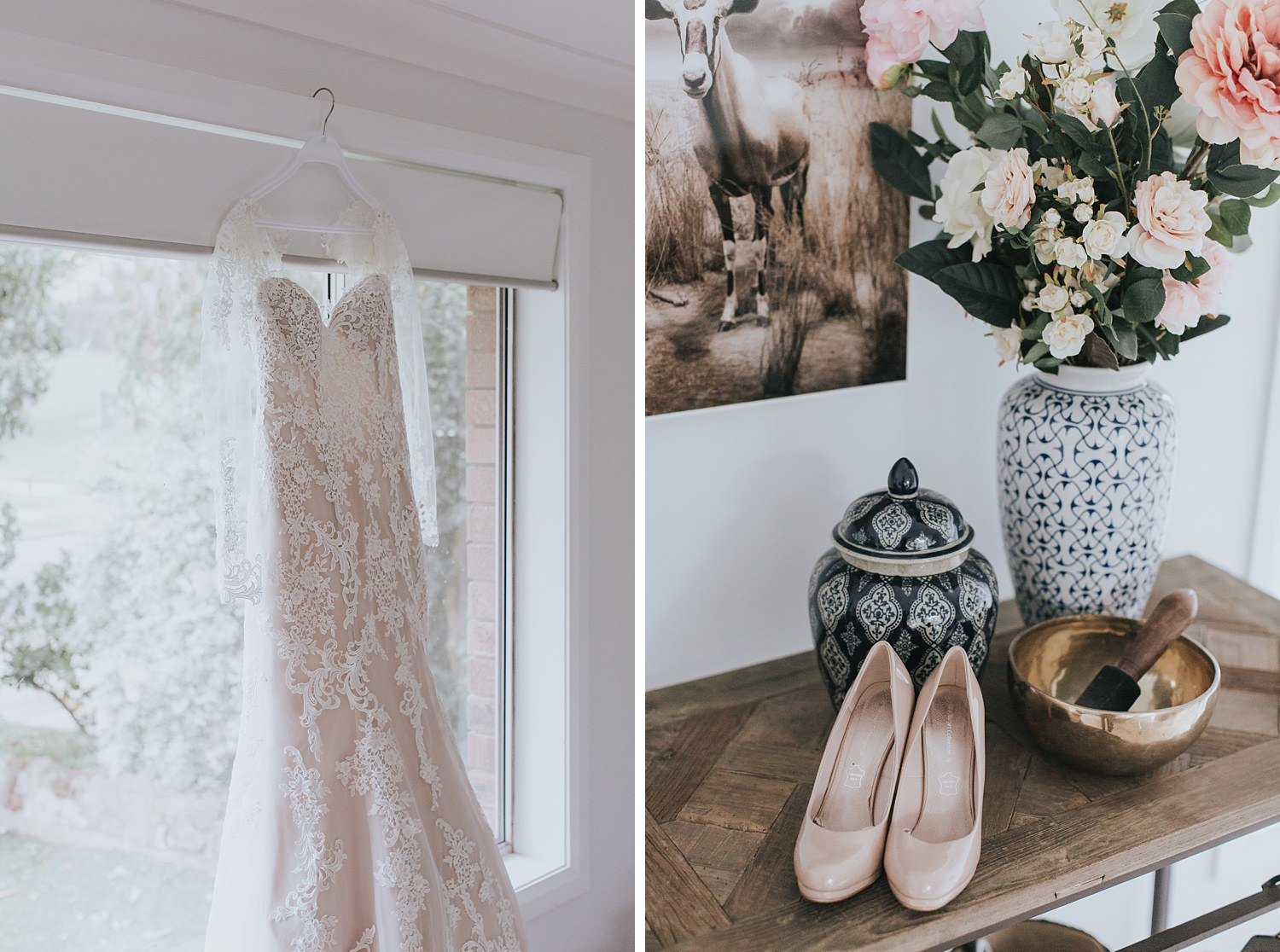 fairground follies wedding gown and shoes