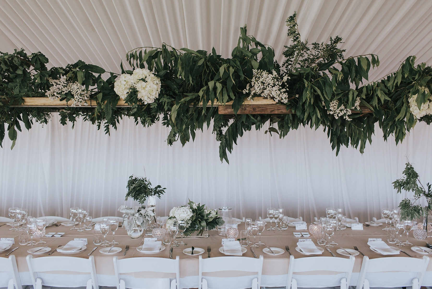 wedding marquee in mudgee