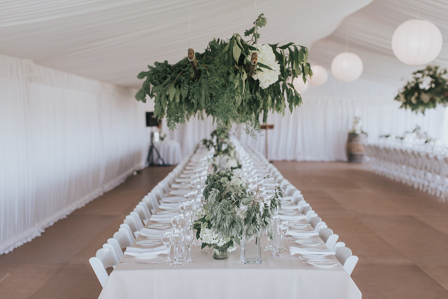 decorative events wedding marquee in mudgee