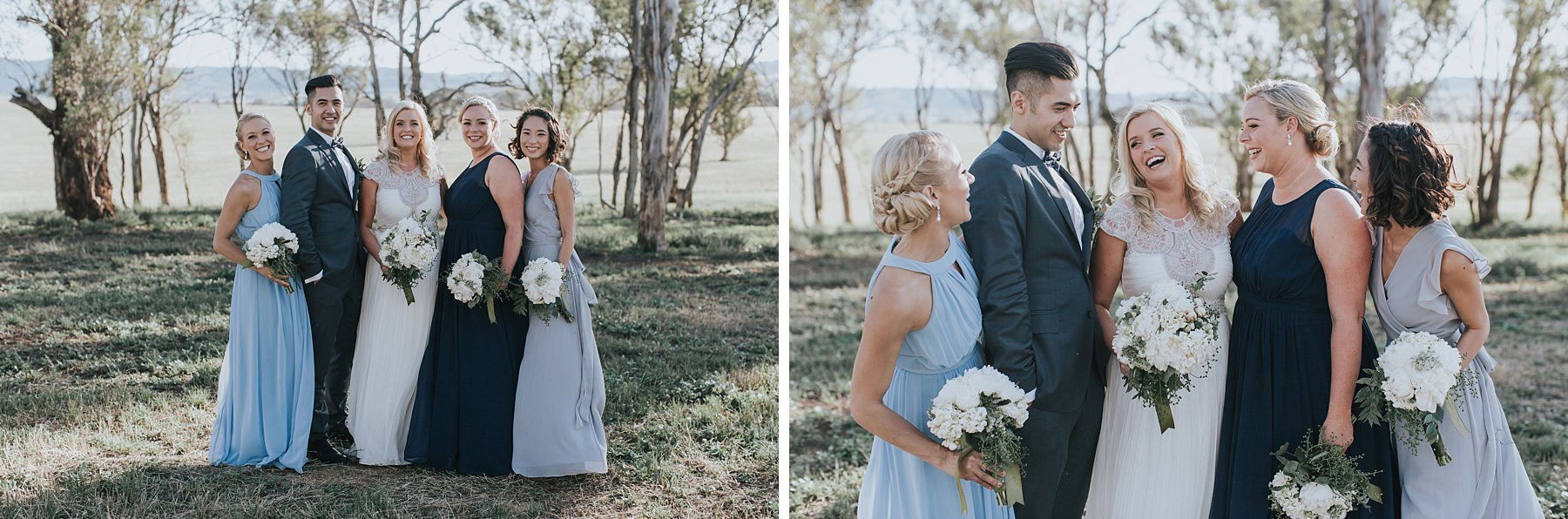 mudgee bridal party photos