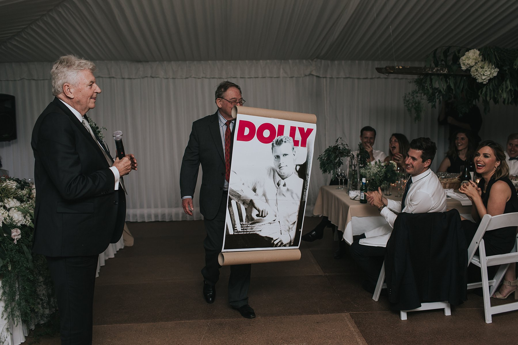 groom modelled on cover of dolly magazine