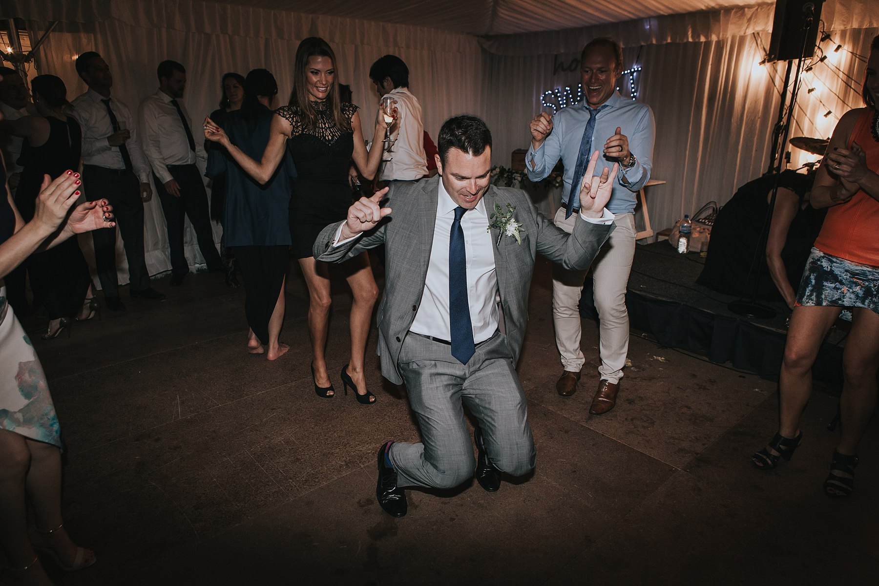 break it down for wedding party