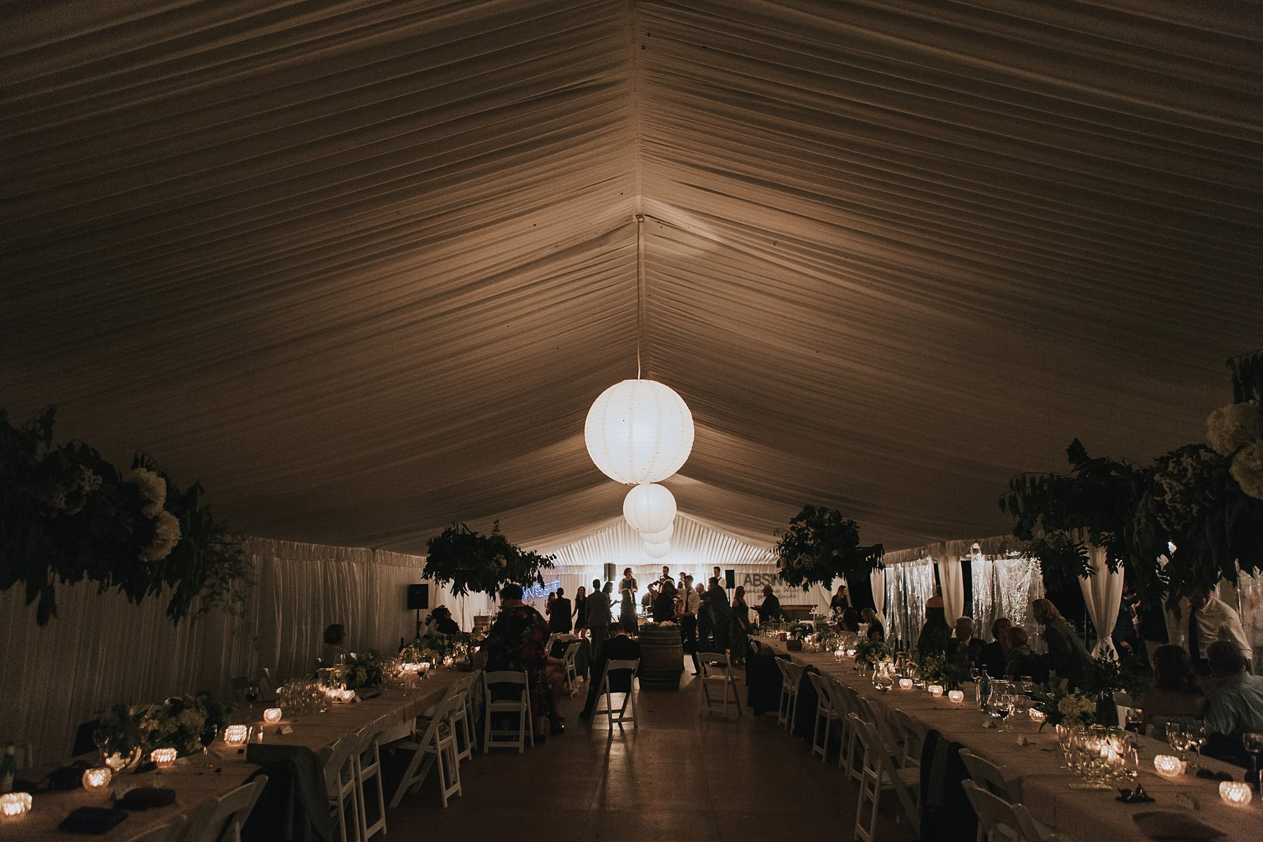 mudgee marquee wedding reception photography