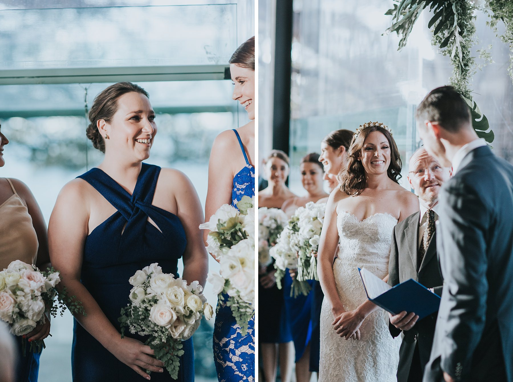 quiet wedding ceremony moments documented