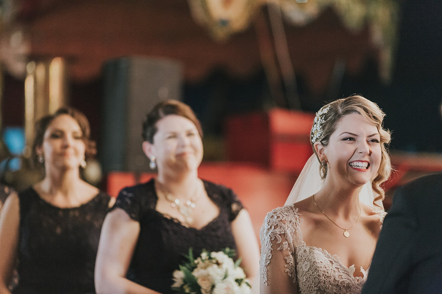 candid wedding photography at fairground follies