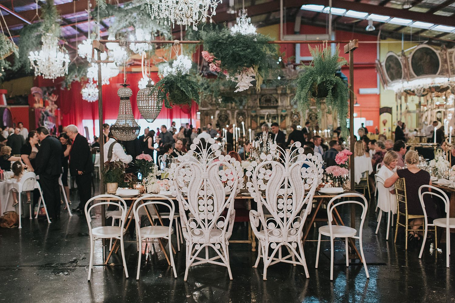 wedding reception styling by she designs in sydney