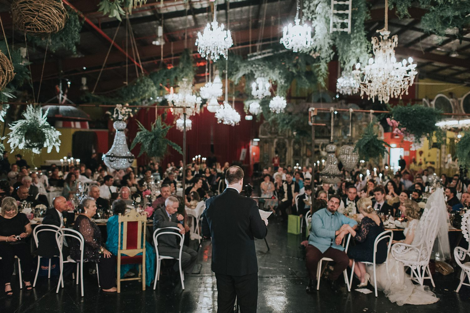 groom speaks from the heart at fairground follies in sydney