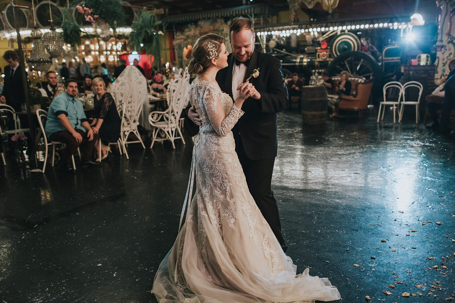 sydney bridal waltz at fairground follies