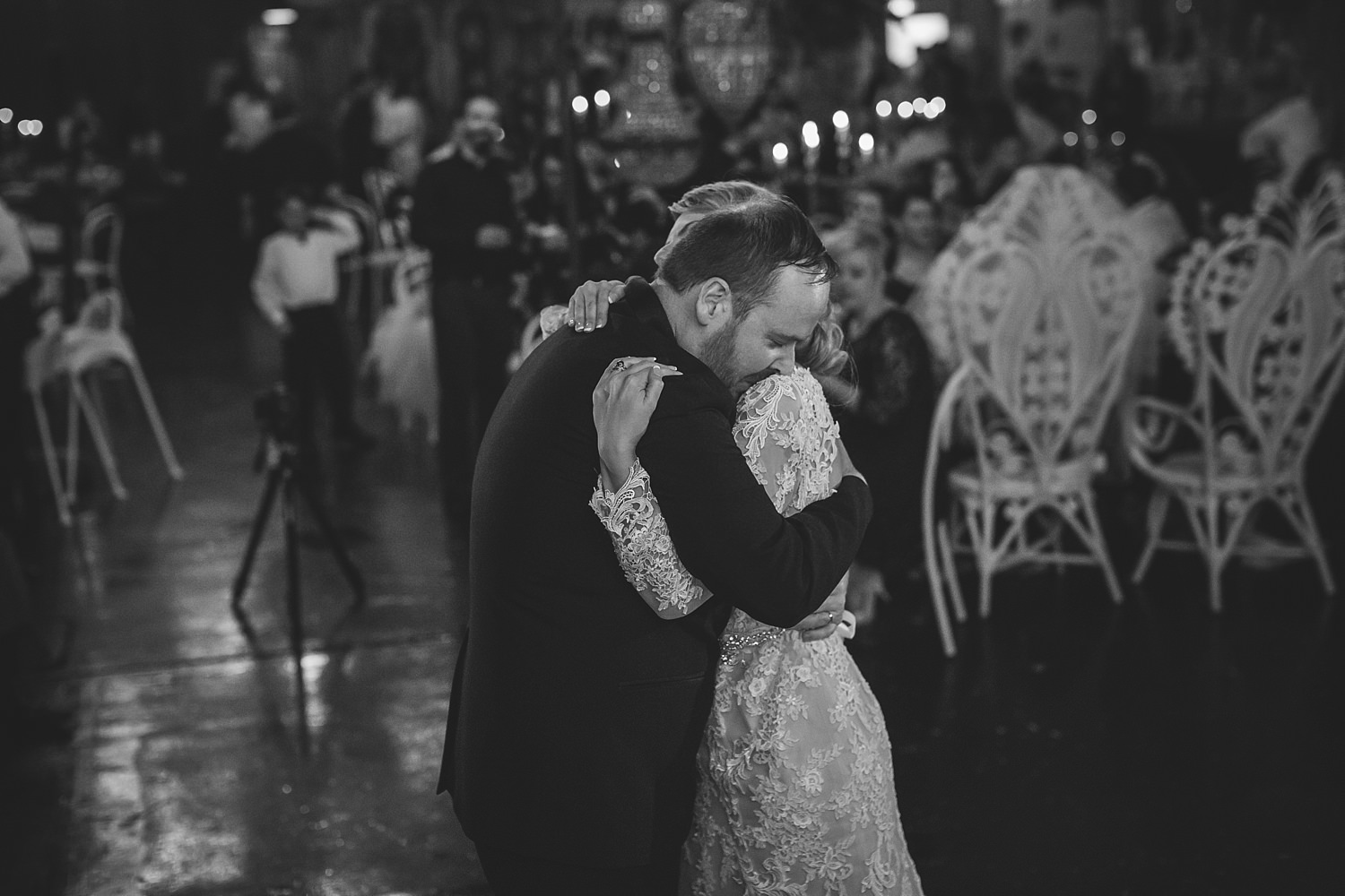 romantic bridal waltz at fairground follies