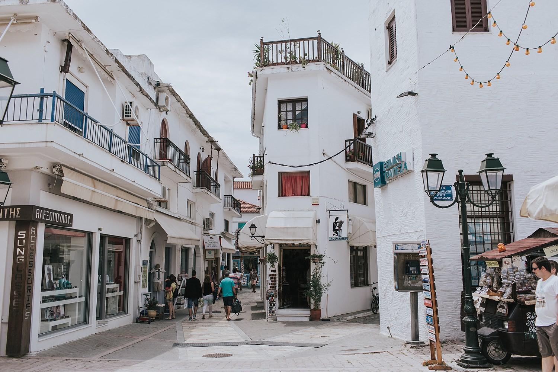 skiathos main street papadiamanti
