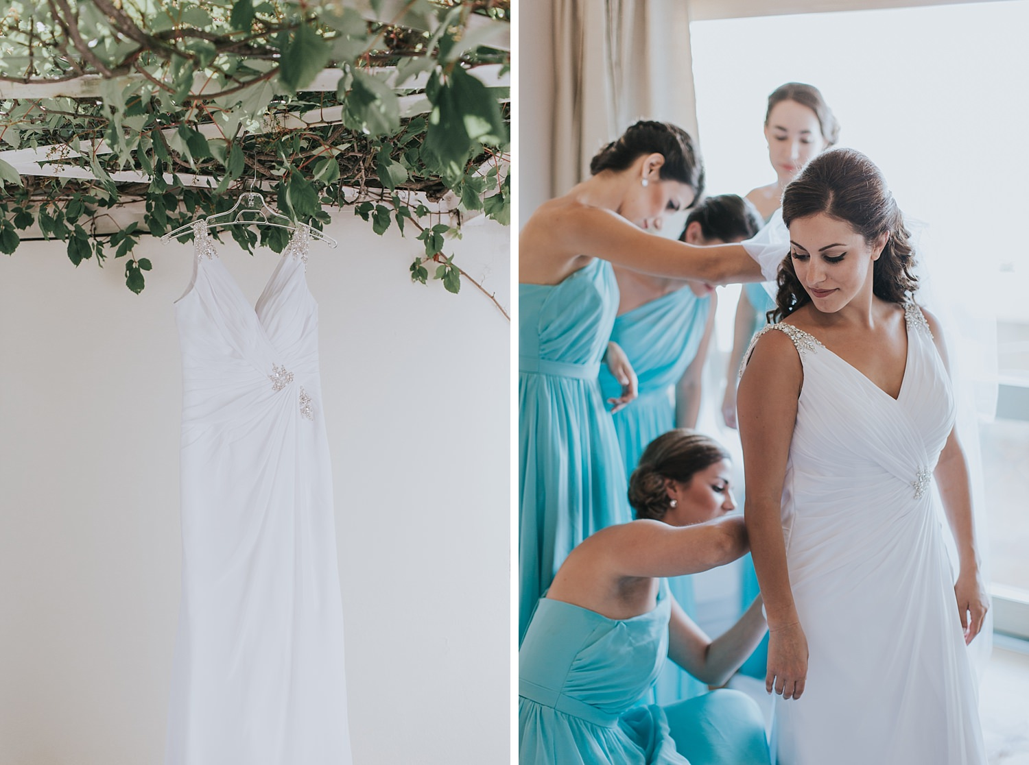 bridal preparations at the atrium hotel skiathos