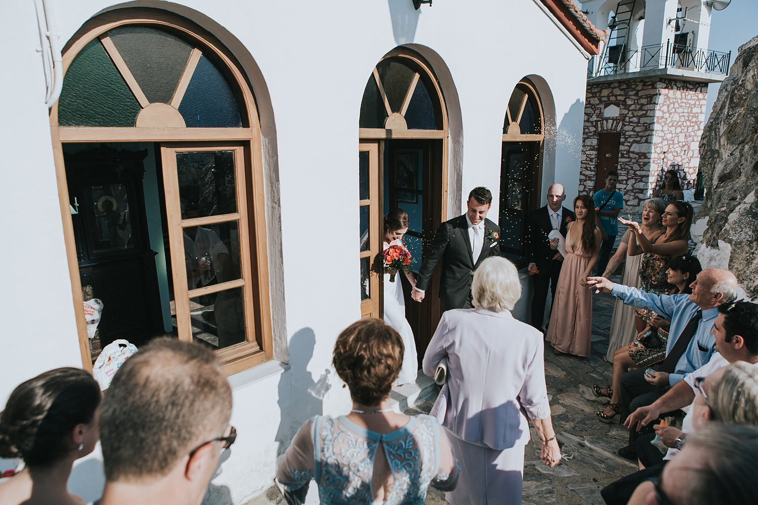 greek islands destination wedding photography by jonathan david