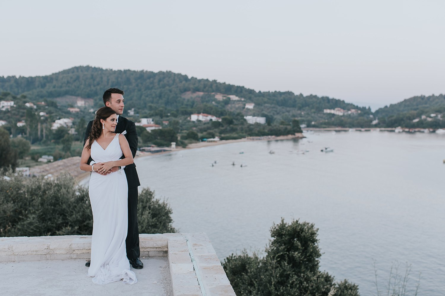 greek islands wedding photography