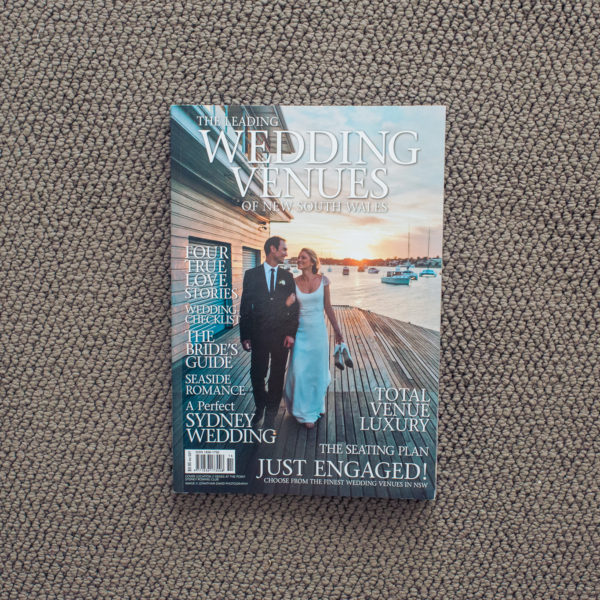 Magazine Front Cover Photo | Wedding Venues of NSW