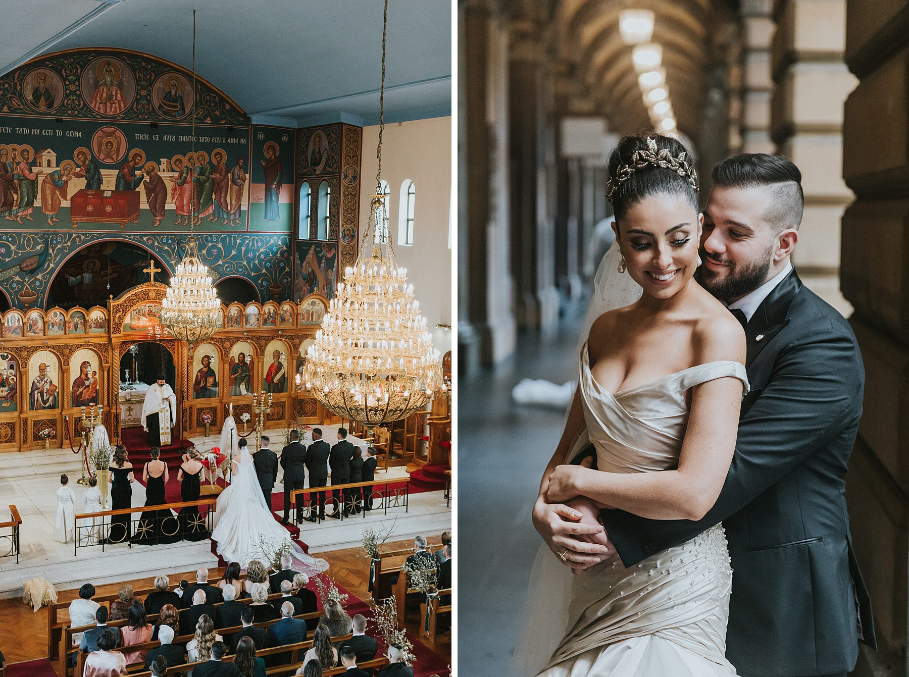 greek orthodox wedding photographer sydney