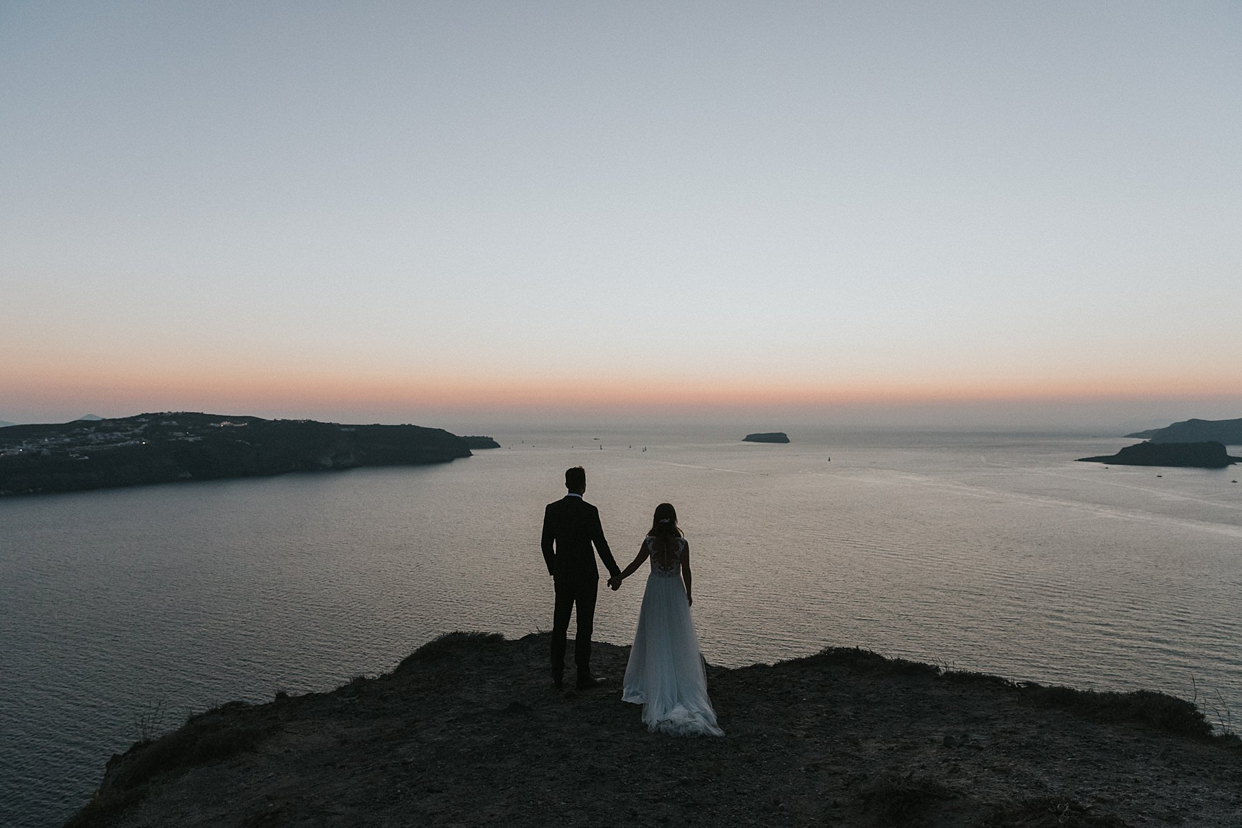 santorini greek island wedding portraits best of 2018