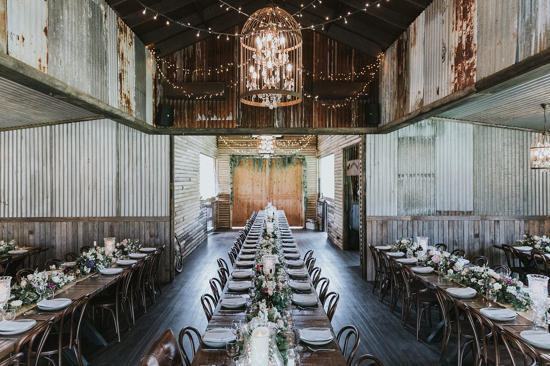 silvergum stables wedding styling