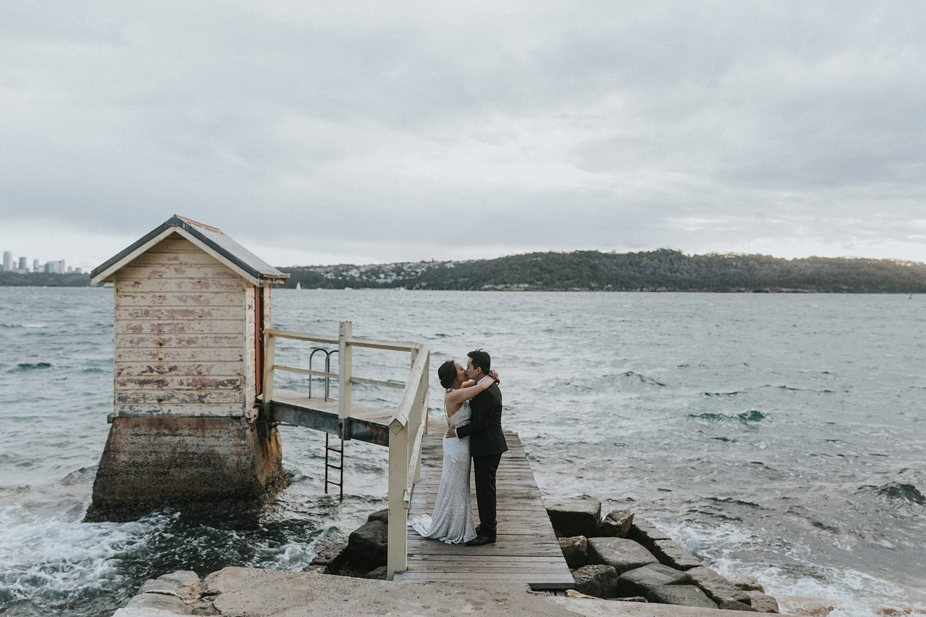 sydney camp cove wedding photographer