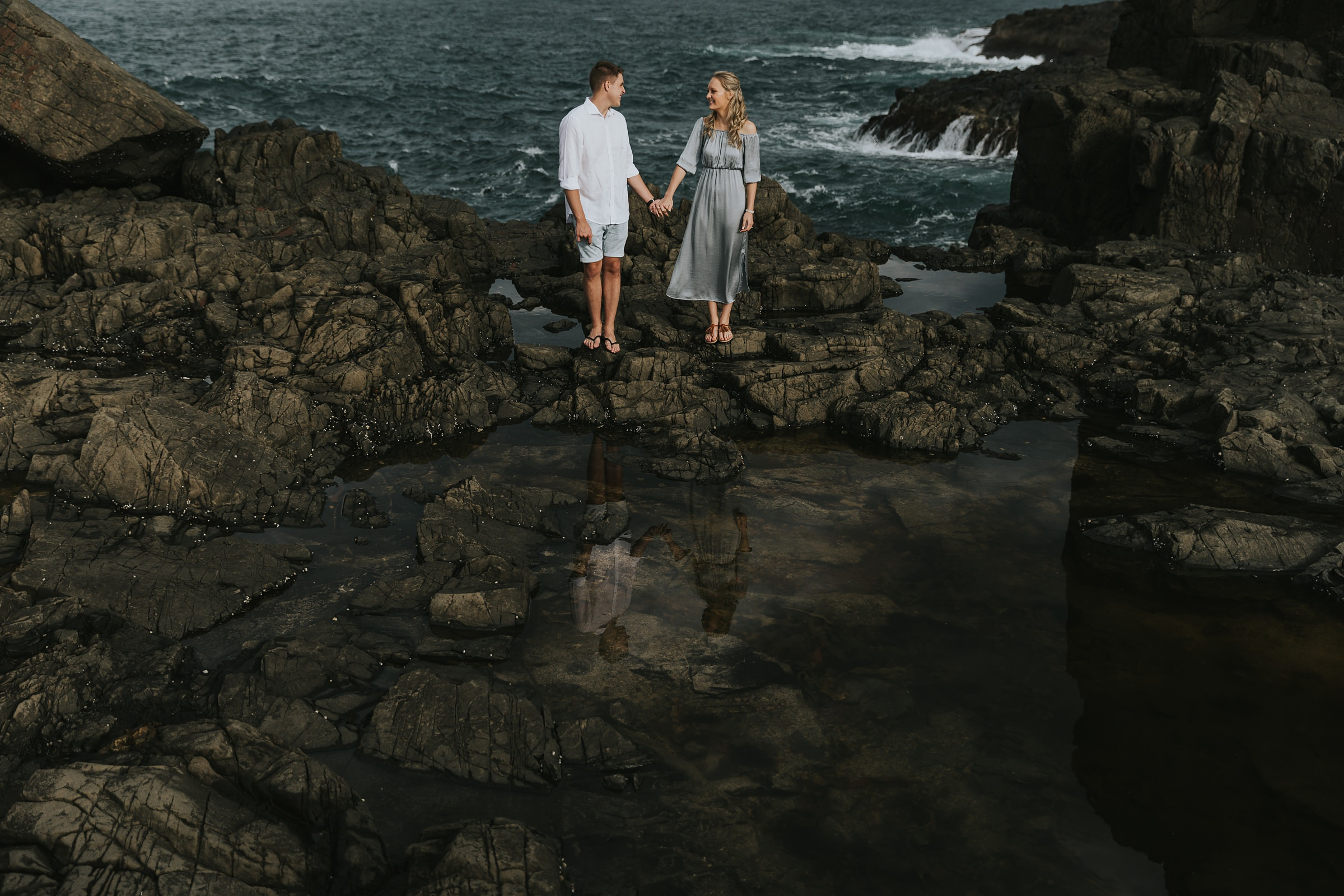 bombo quarry engagement photography