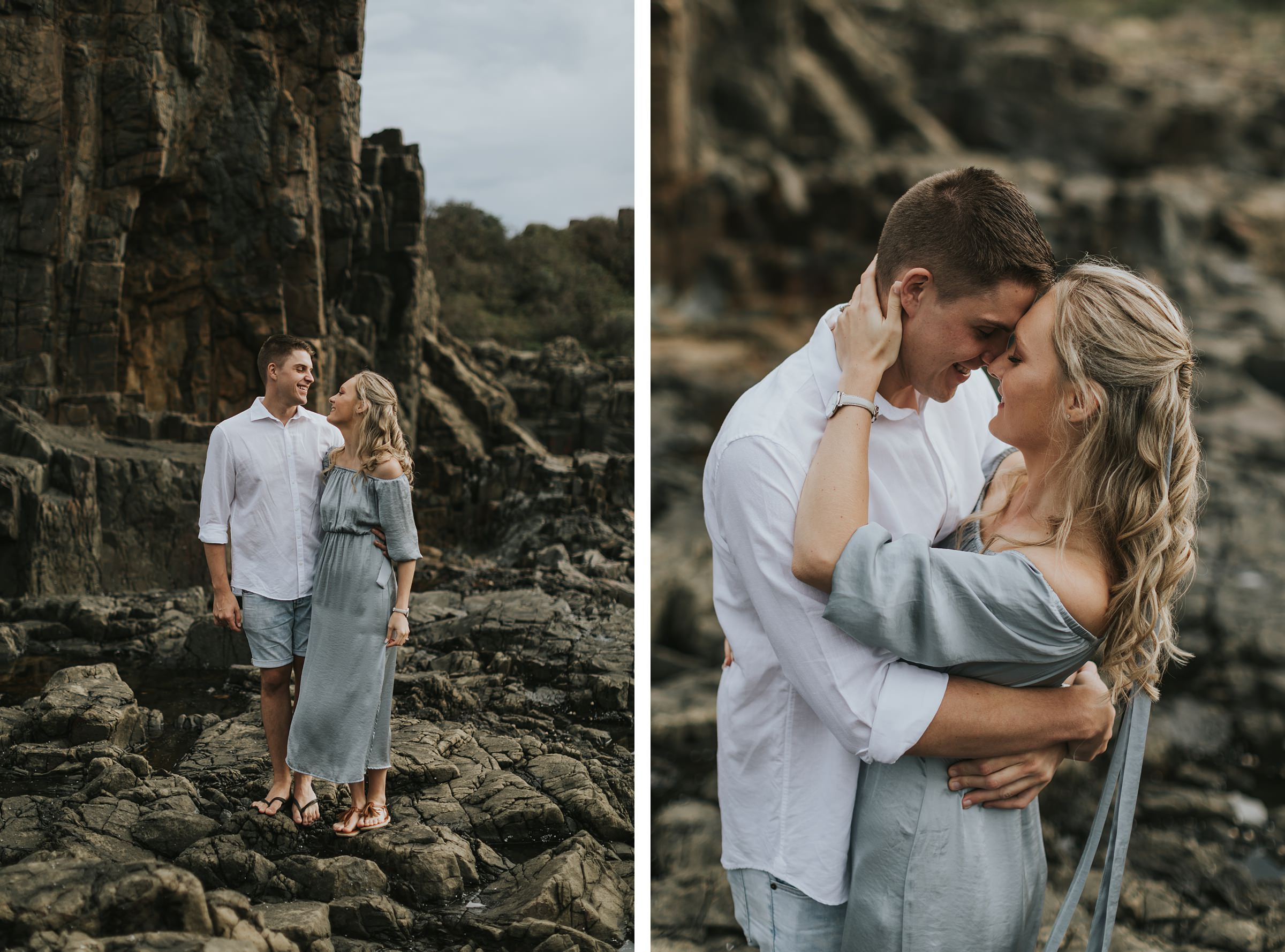 wedding photos at bombo quarry nsw south coast