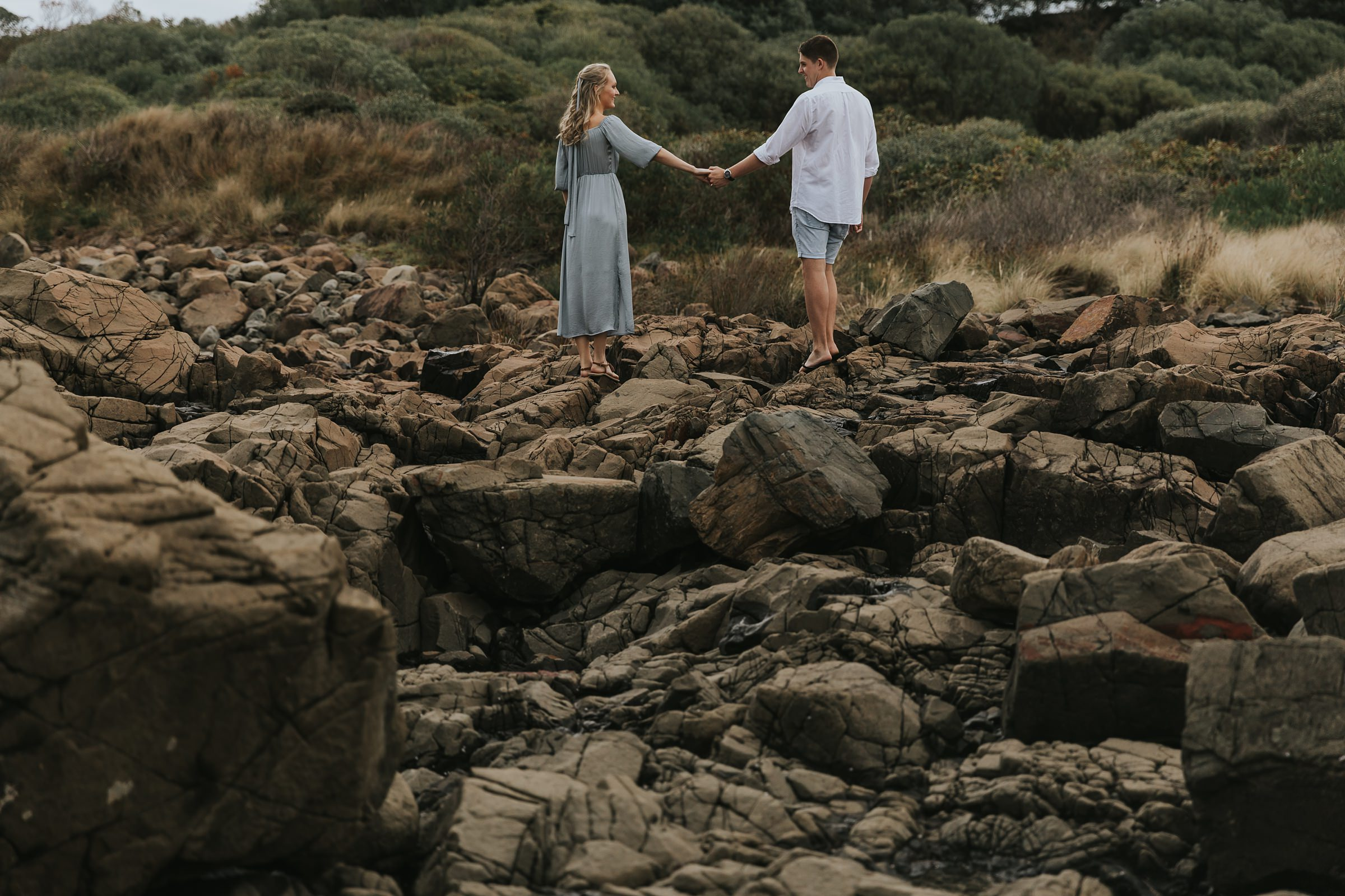south coast nsw engagement photographer