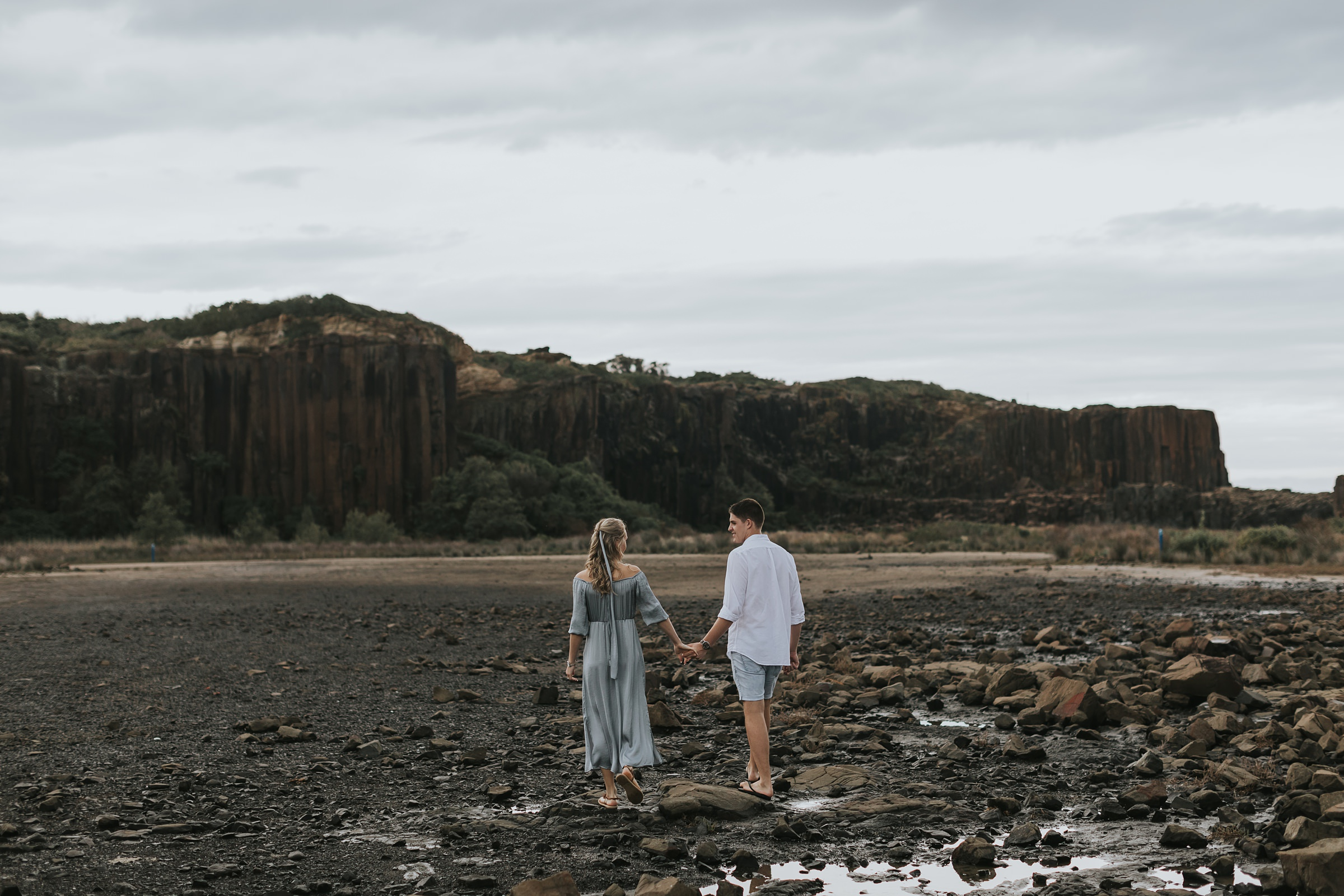 bombo quarry engagement portraits