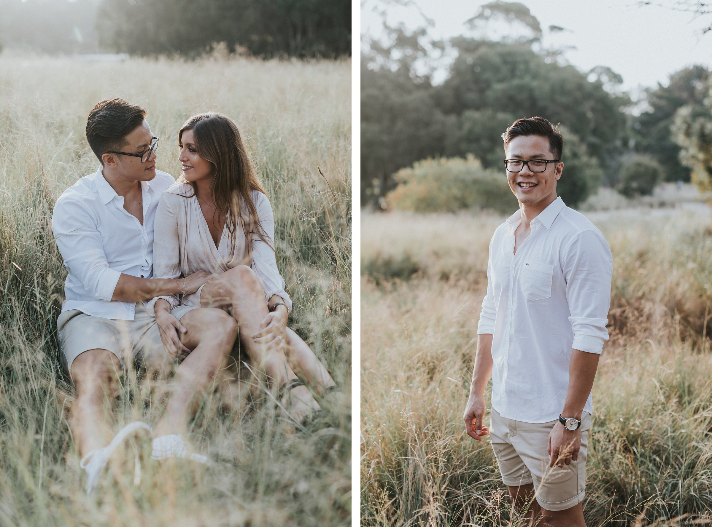 sydney engagement portraits by jonathan david
