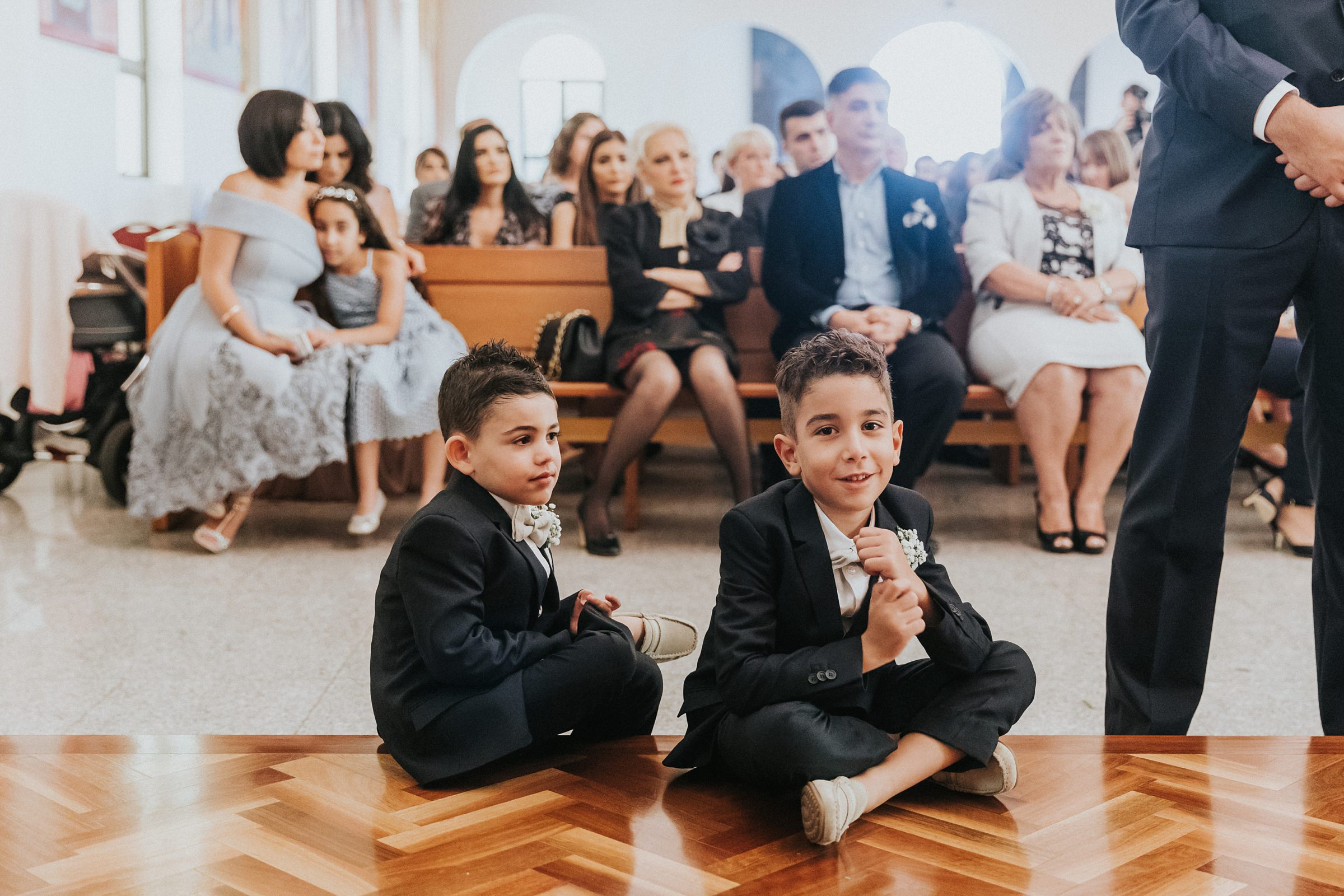 pageboys at sydney wedding photography by jonathan david