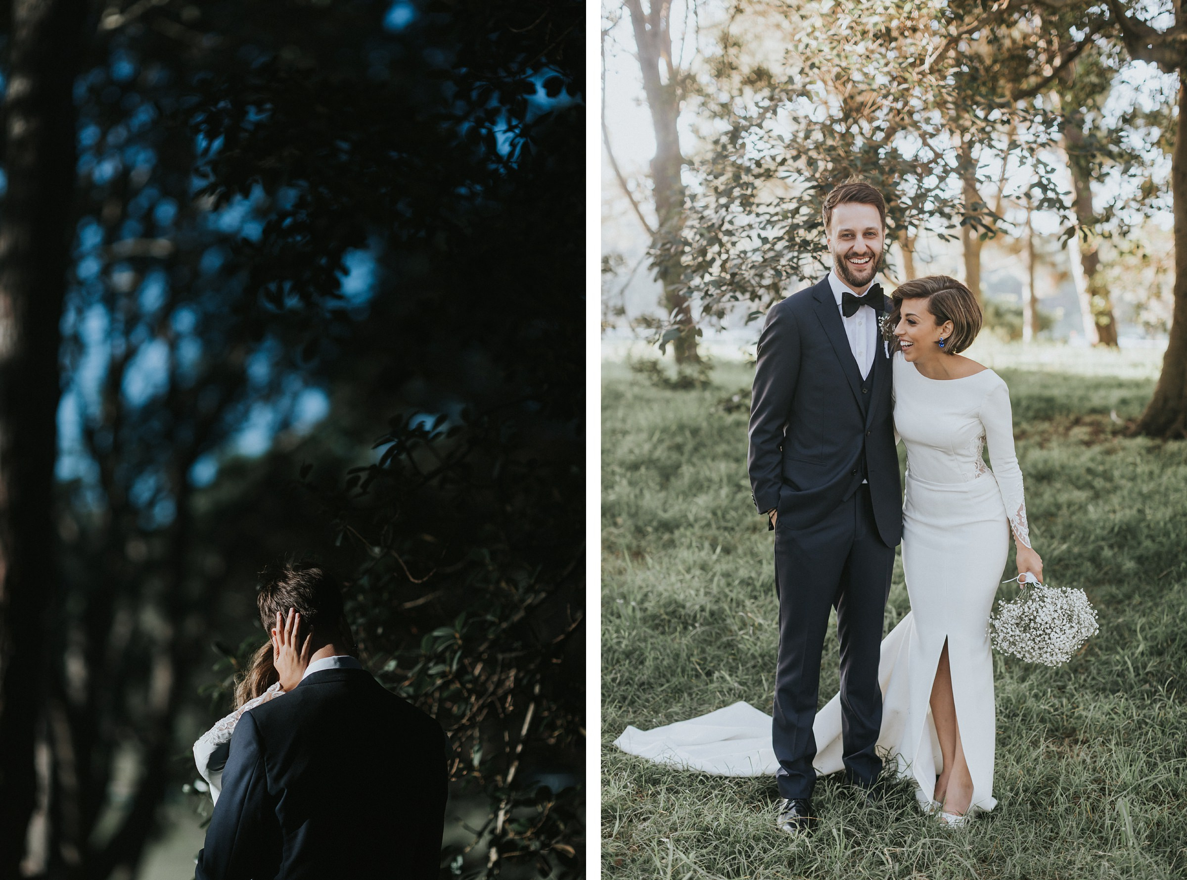bride and groom portraits in sydney cbd