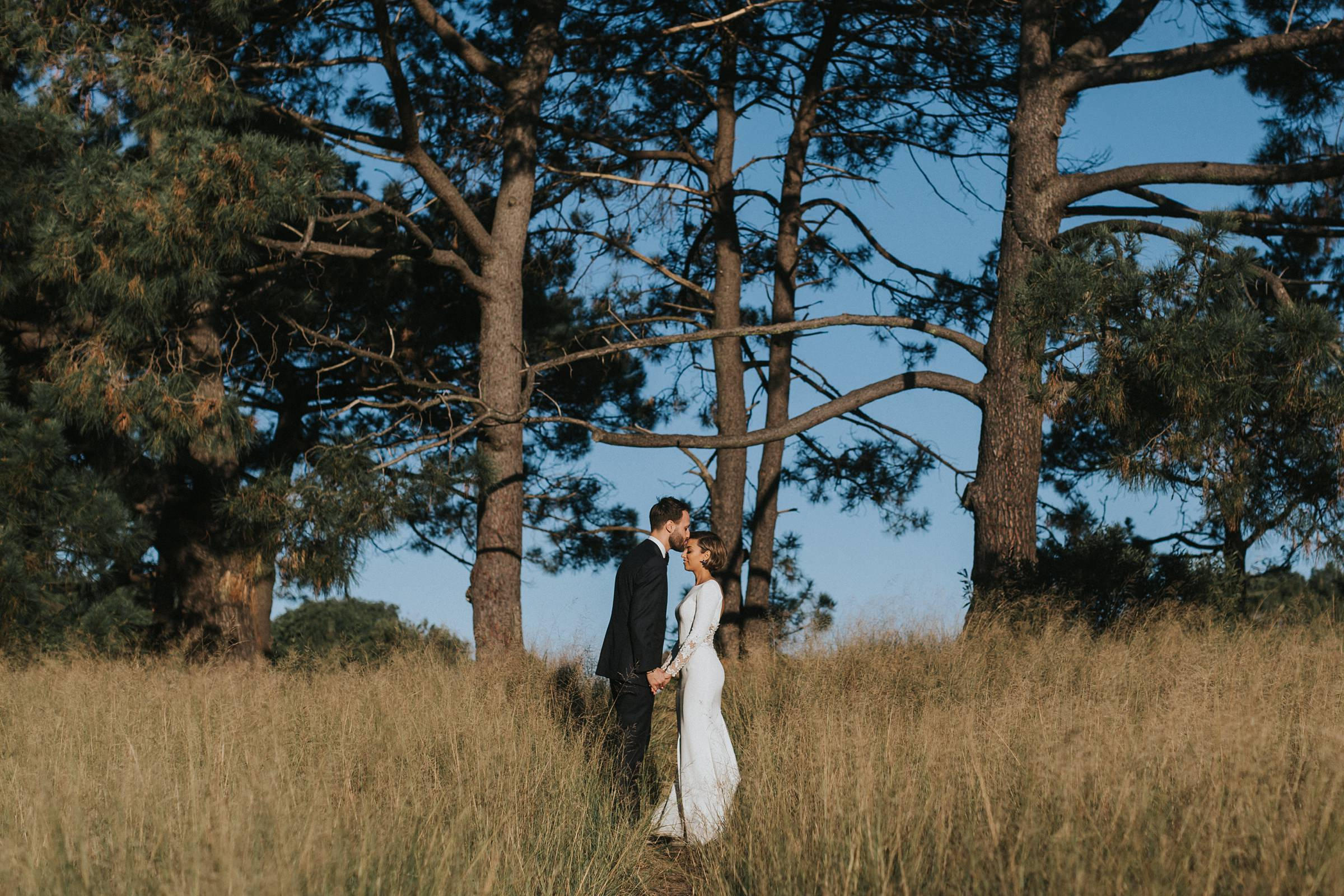centennial park honest wedding photos