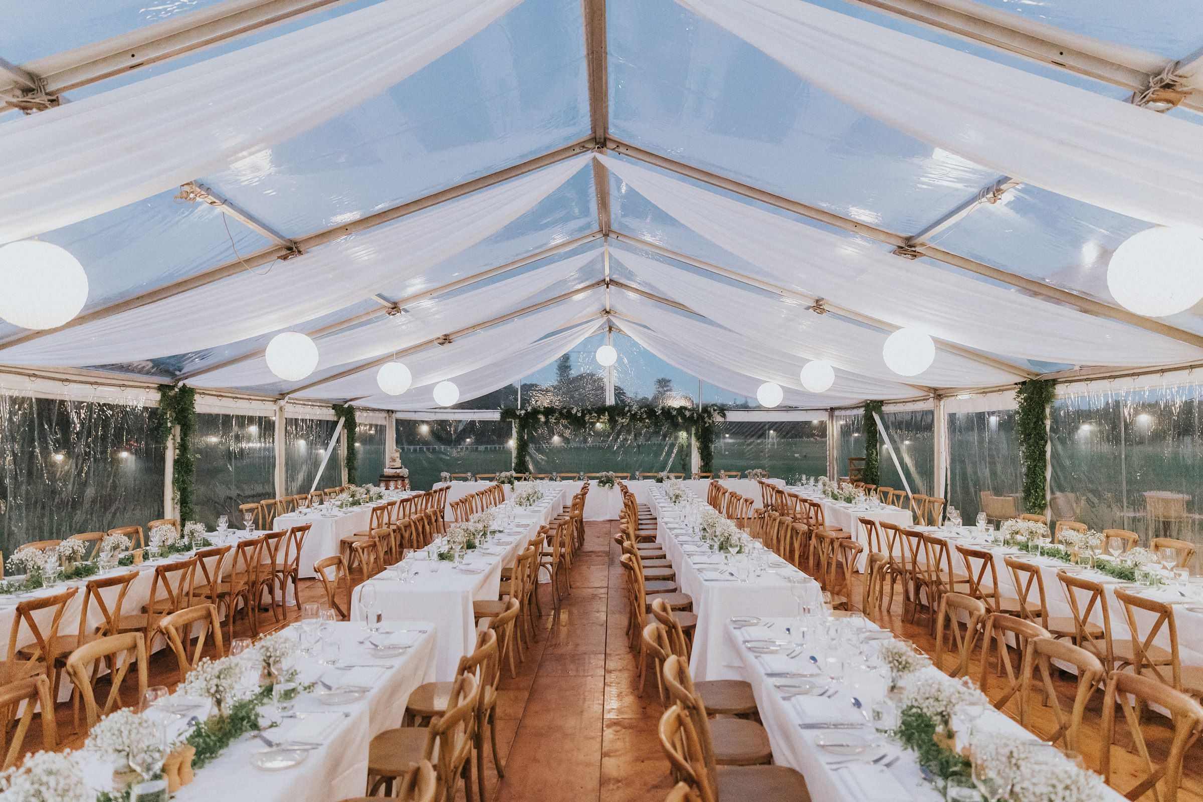 centennial homestead marquee wedding reception photos