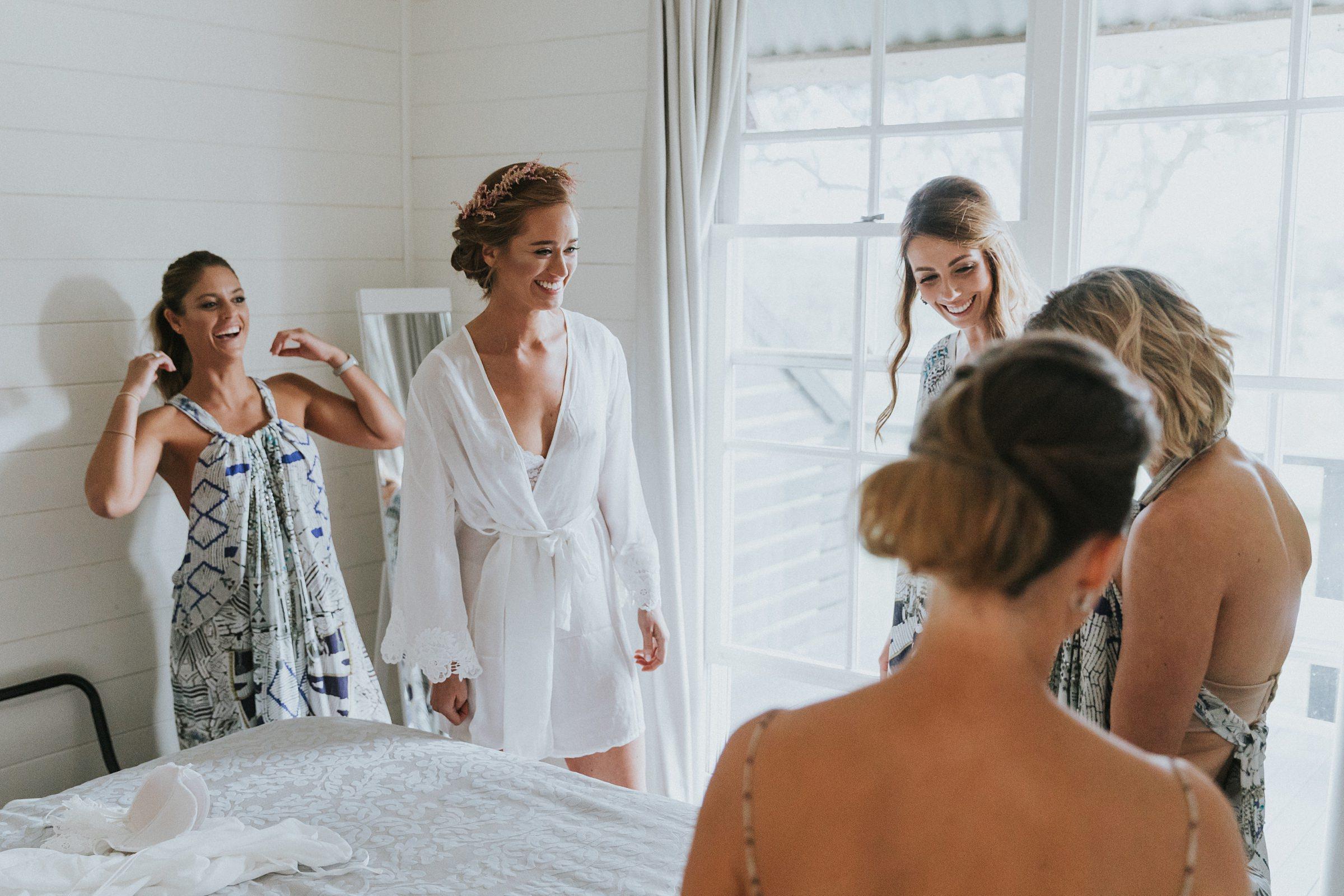 documentary wedding photography at mali brae farm