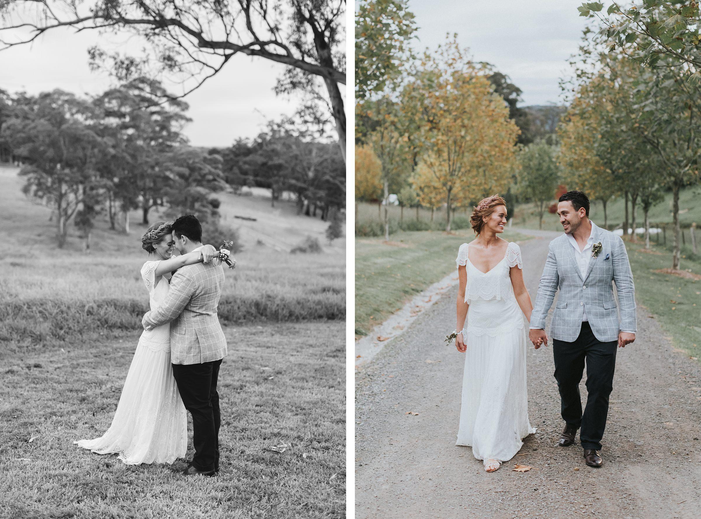fitzroy falls mali brae farm wedding