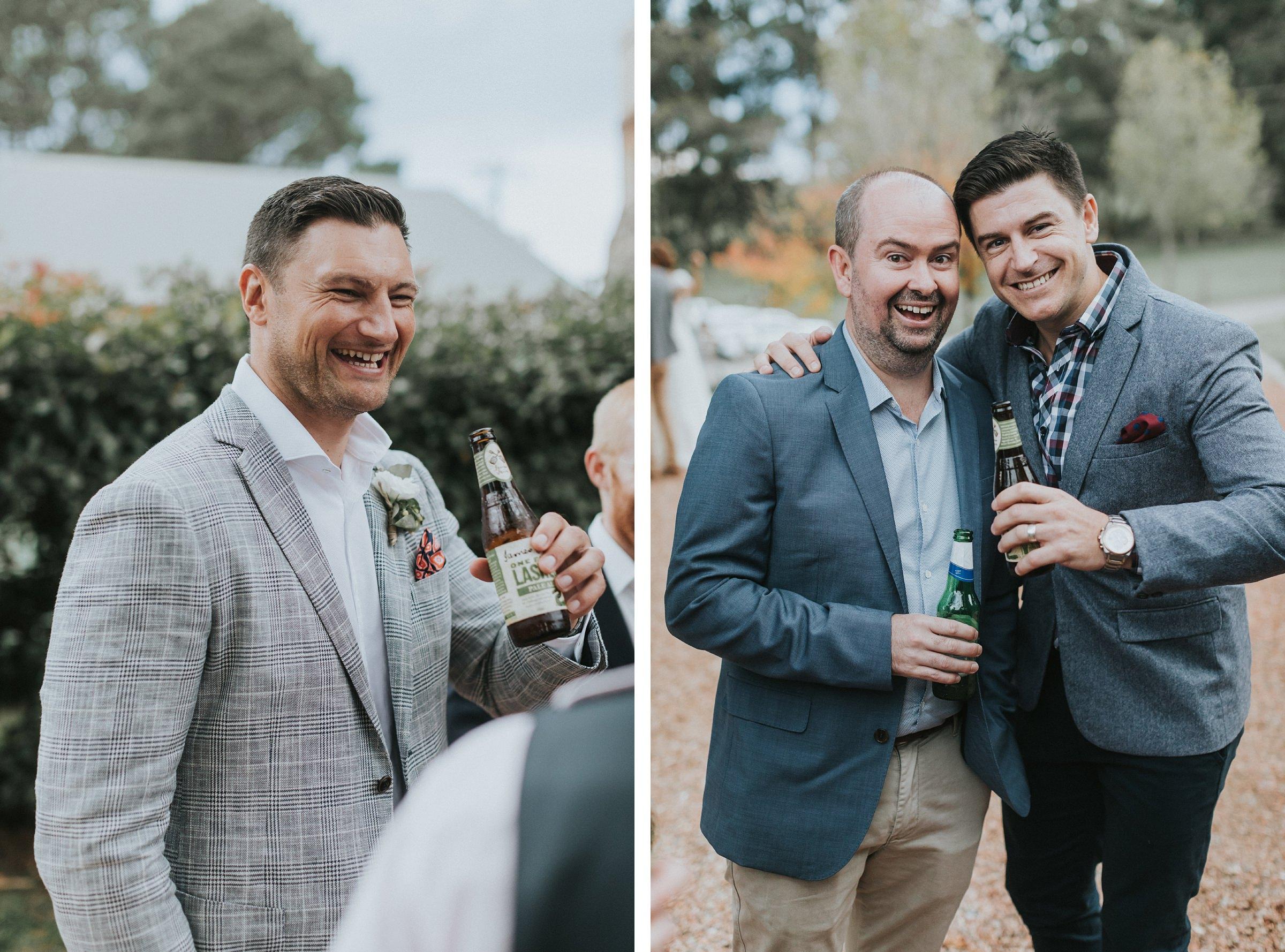 portraits of guests at kangaroo valley wedding