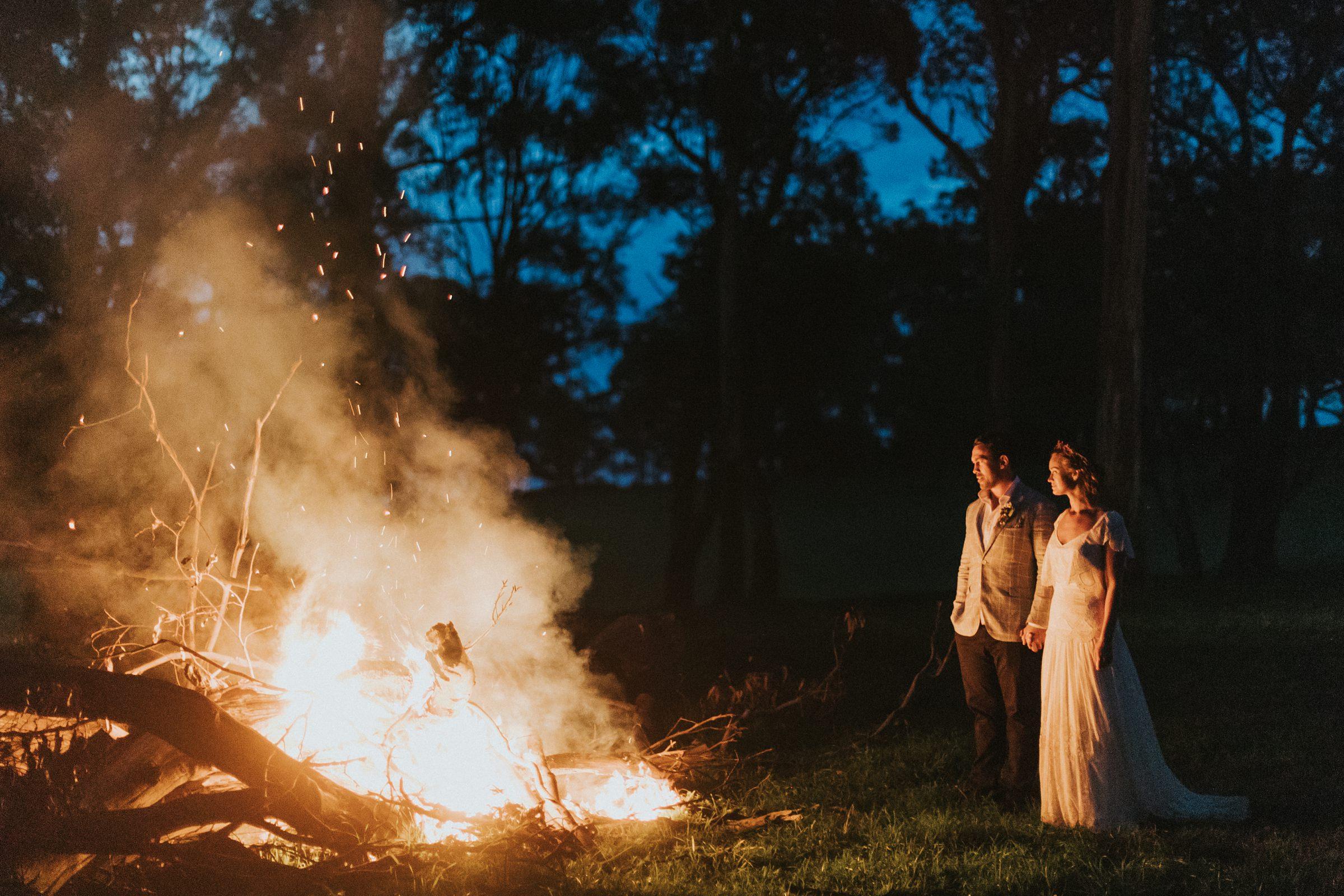 mali brae bonfire portraits