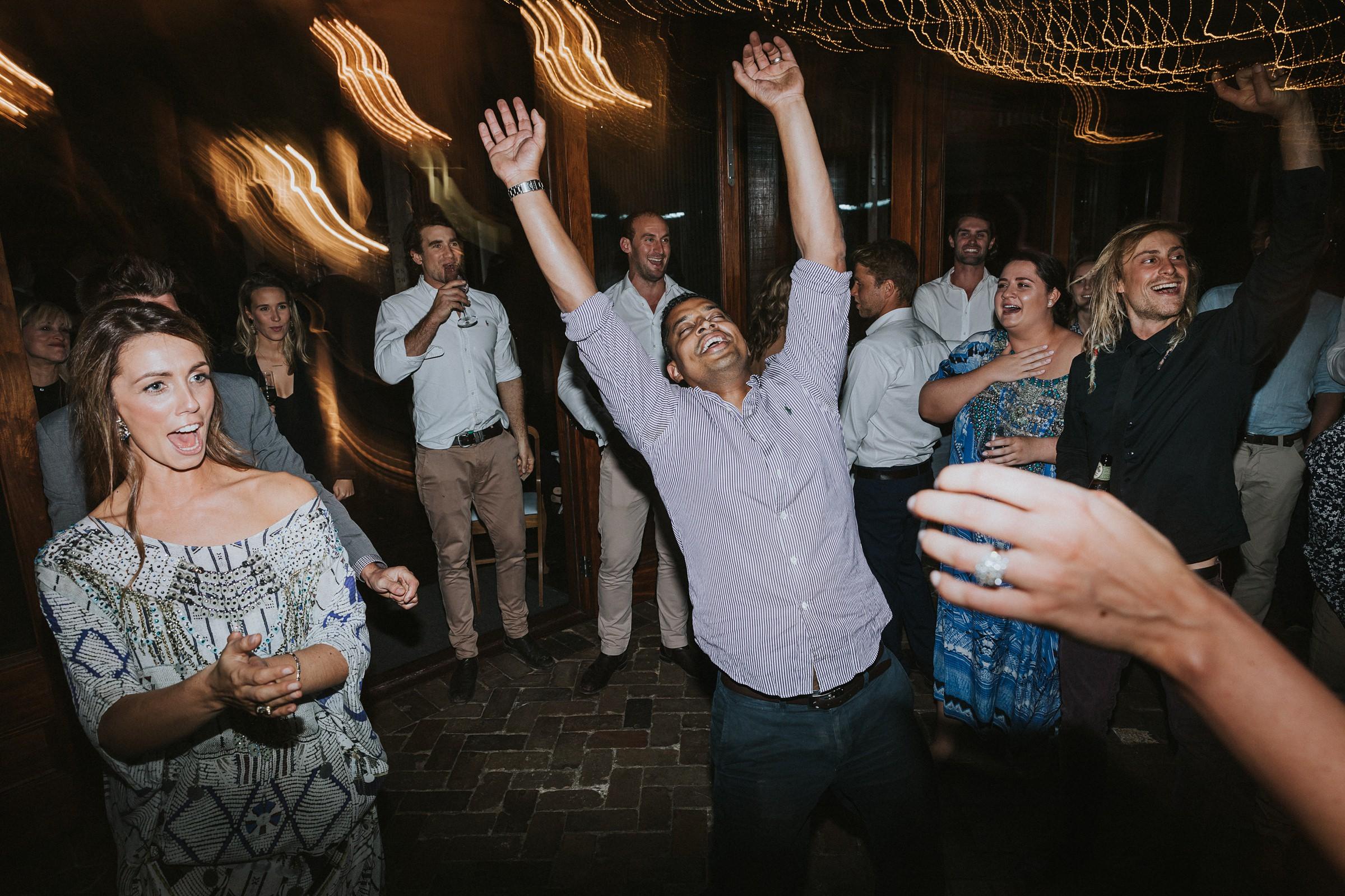 mali brae farm wedding reception dancing