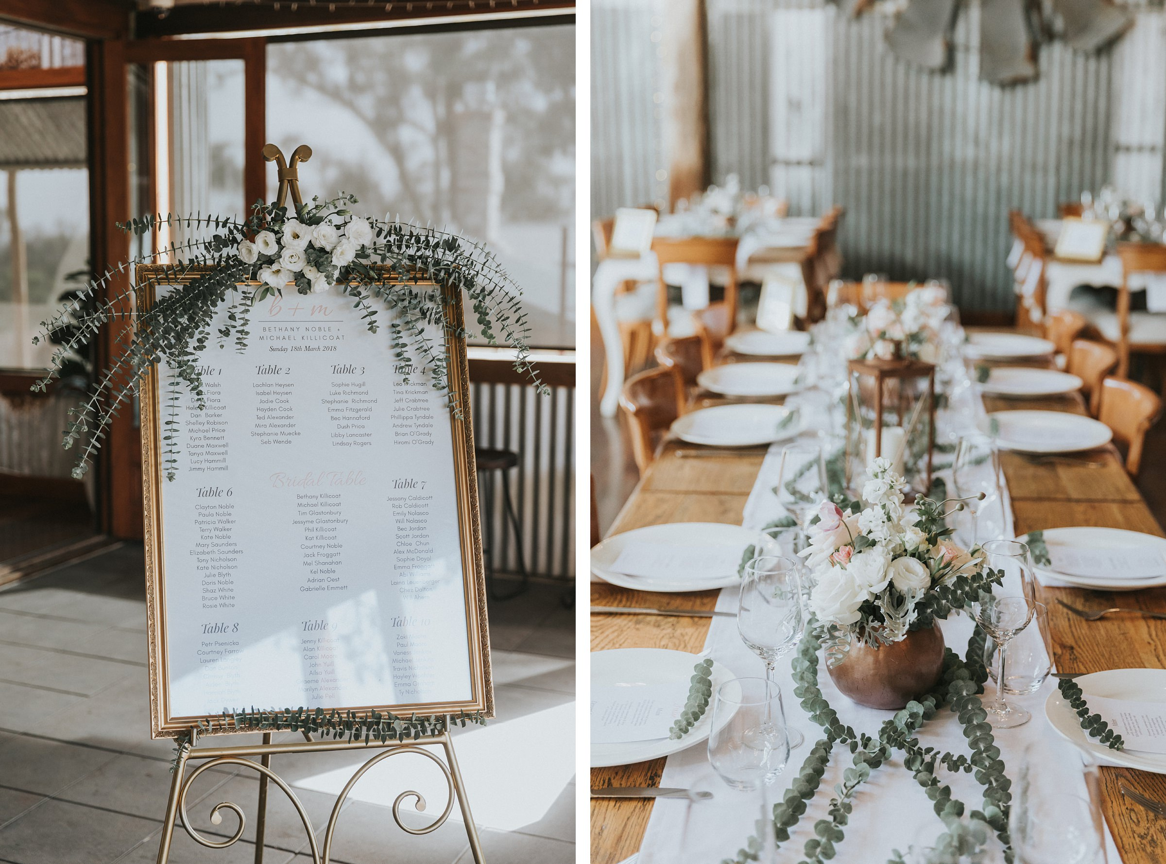rustic farm wedding at mali brae