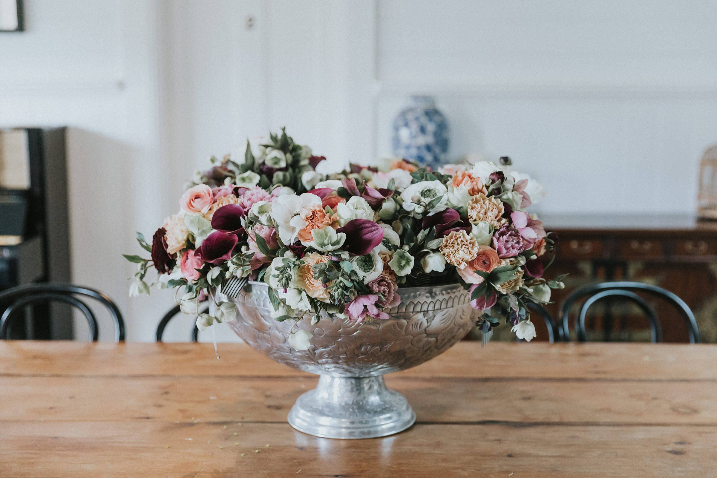 bespoke bloom house wedding flowers