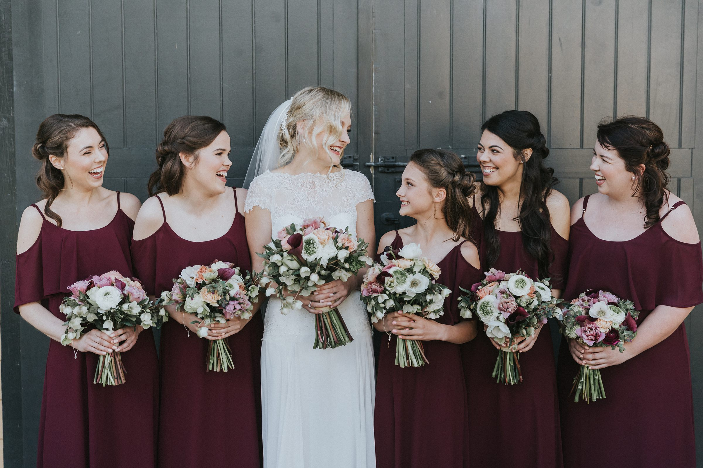 bridal party in southern highlands bowral the coach house