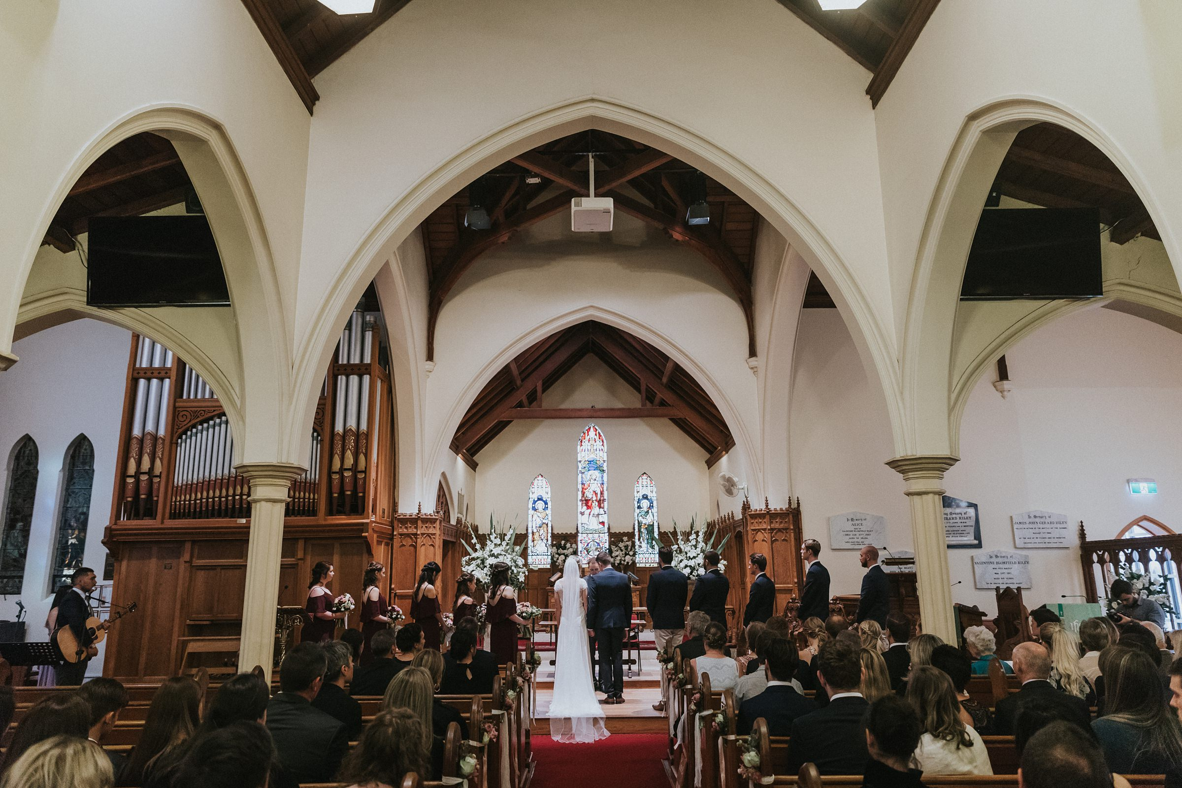 church wedding ceremony southern highlands photography