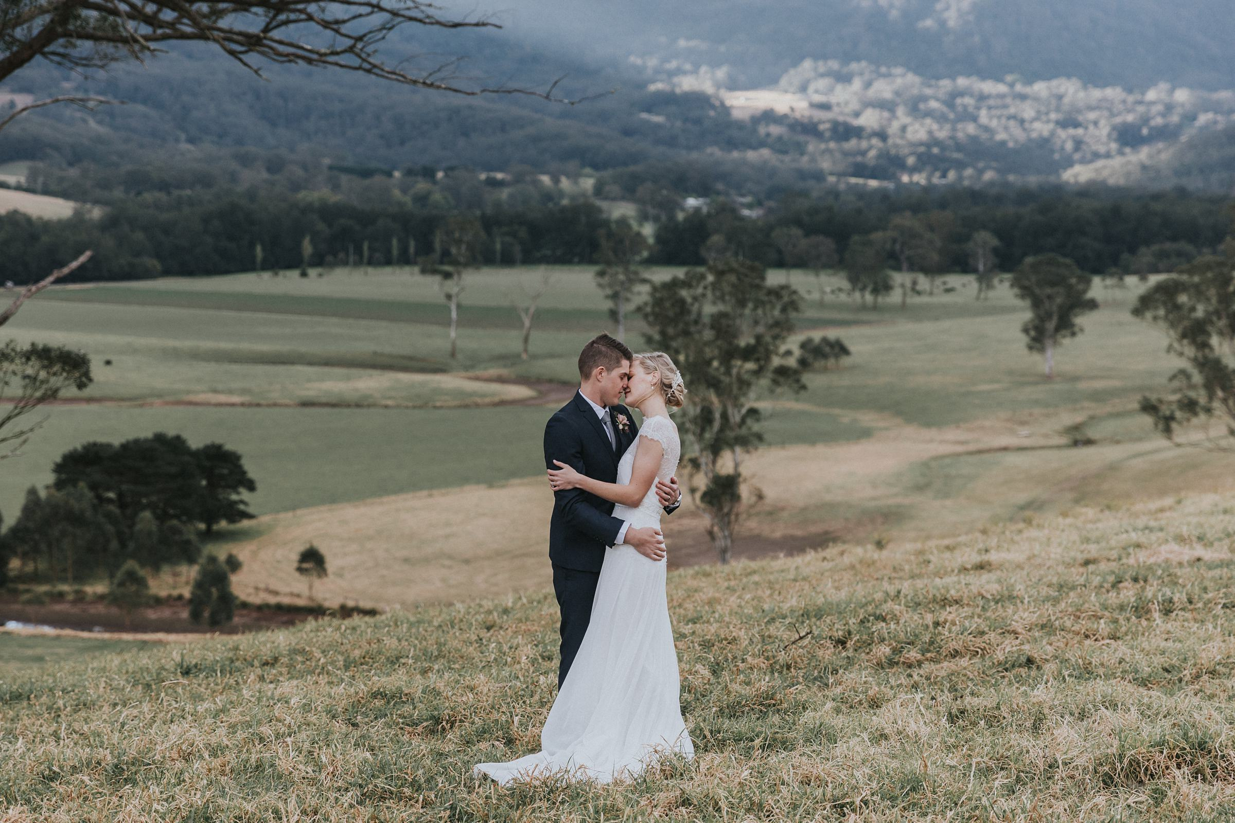 melross farm wedding in kangaroo valley