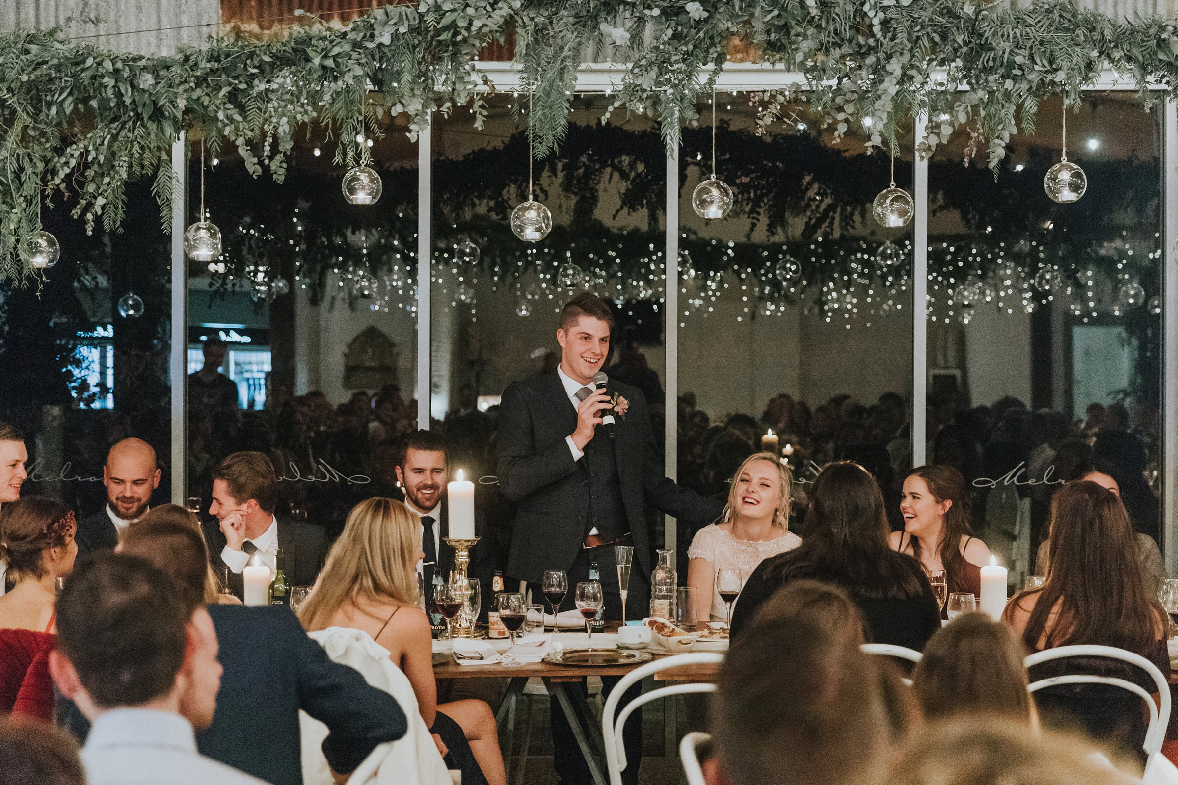 groom speech at the barn at melross
